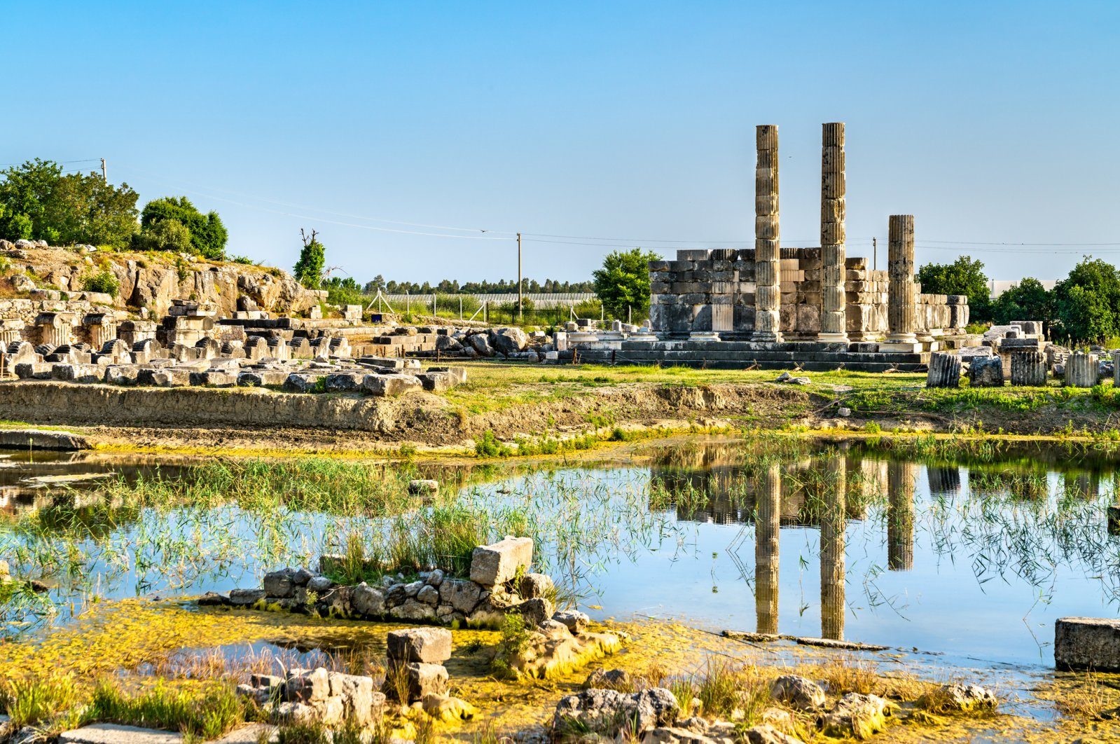 The water in and around the ruins of Letoon create picture-perfect sights. (iStock Photo)