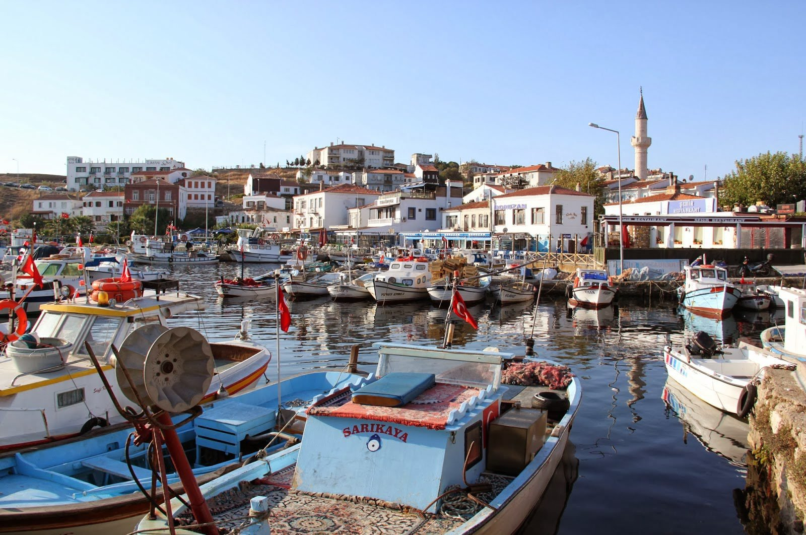 A view from Bozcaada, a district of the northwestern Turkish city of Çanakkale. (File Photo)