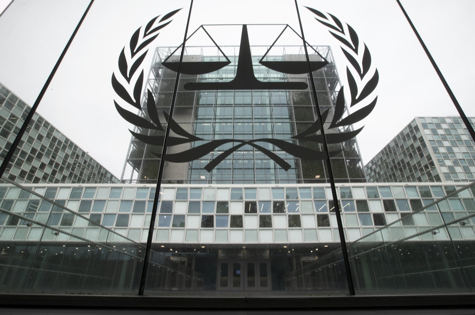 In this Nov. 7, 2019 file photo, the International Criminal Court, or ICC, is seen in The Hague, Netherlands. (AP Photo)