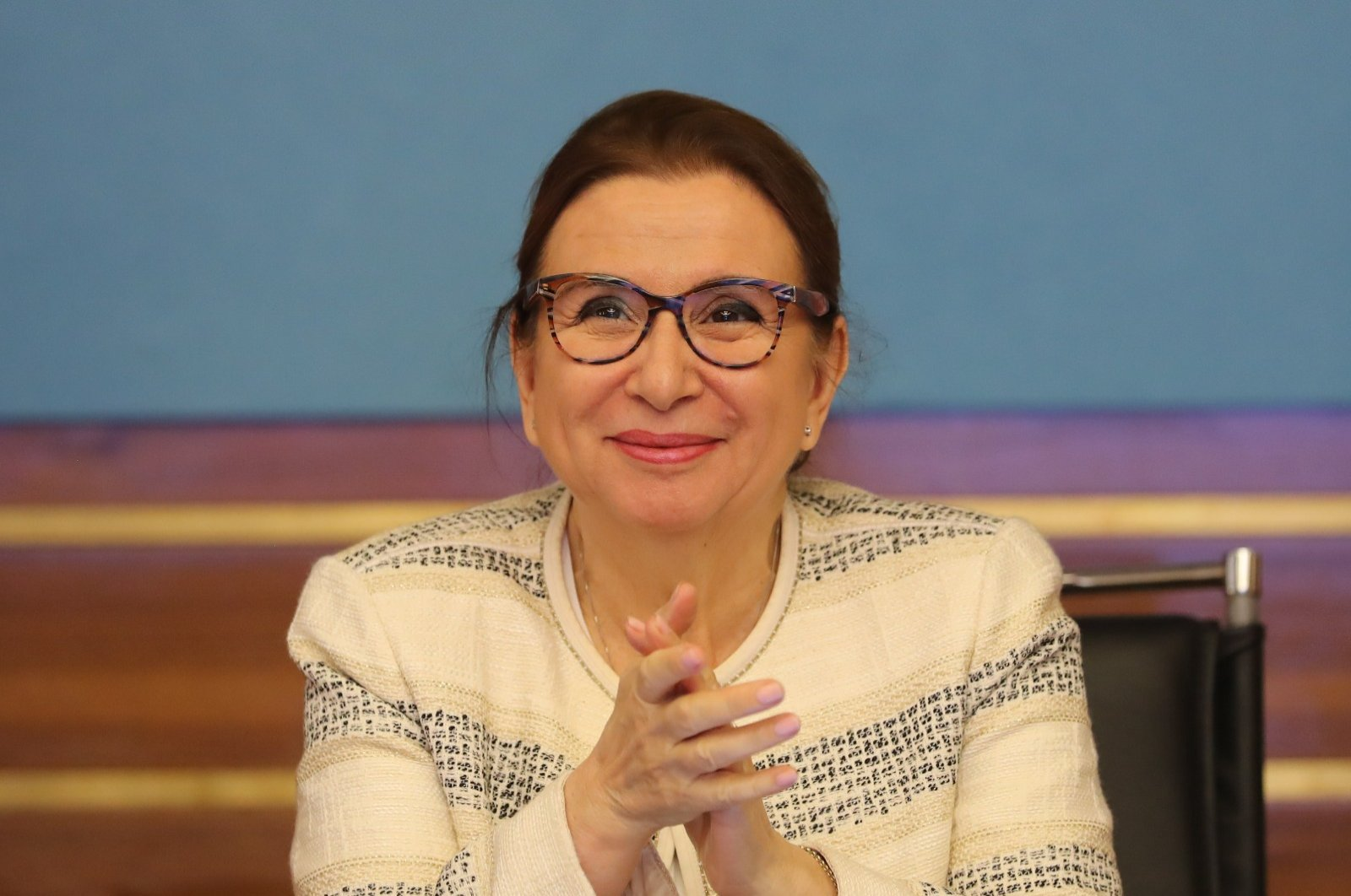 Trade Minister Ruhsar Pekcan. (DHA Photo)