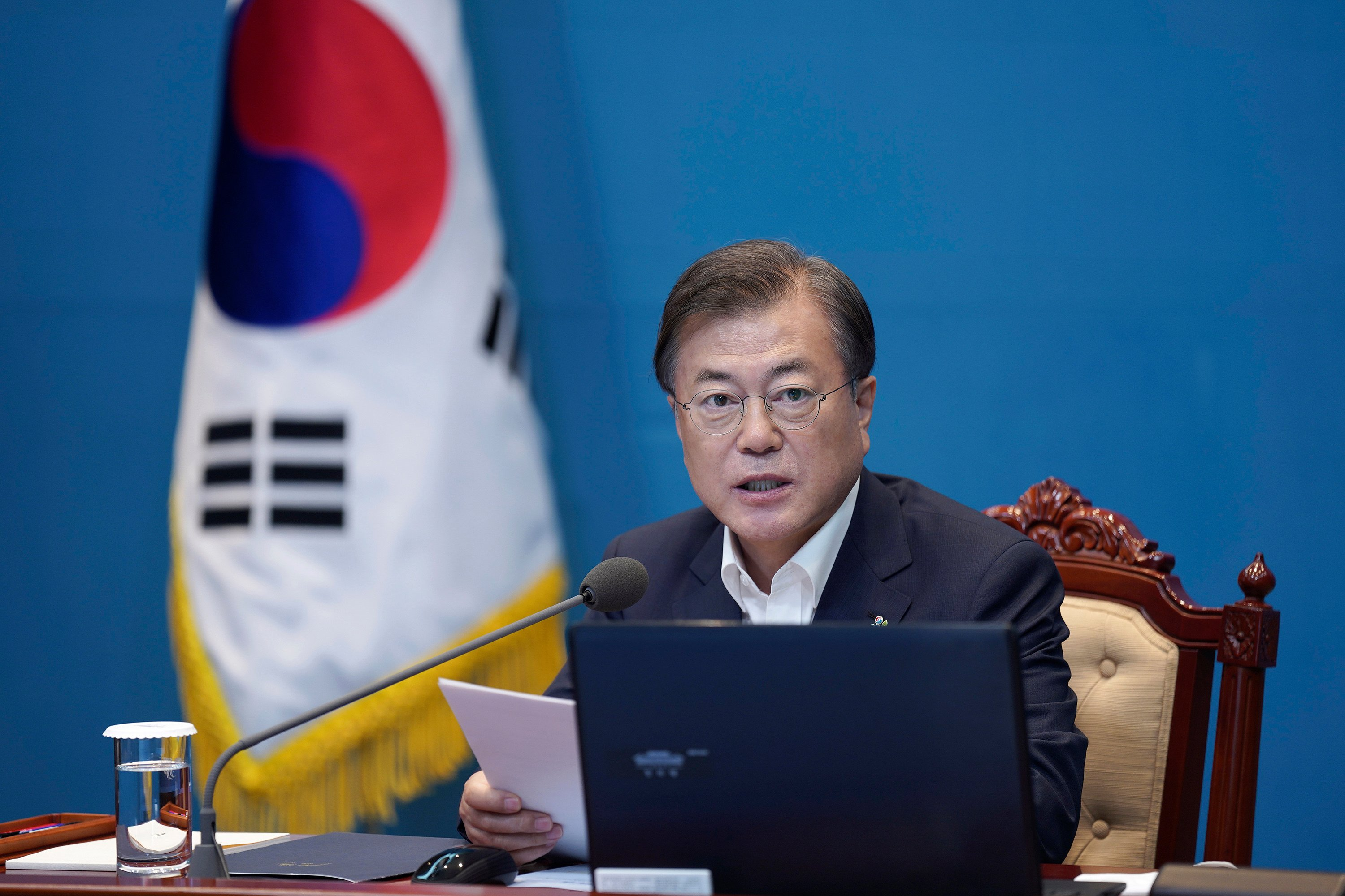 South Korean President Calls On North To Stop Raising Tensions