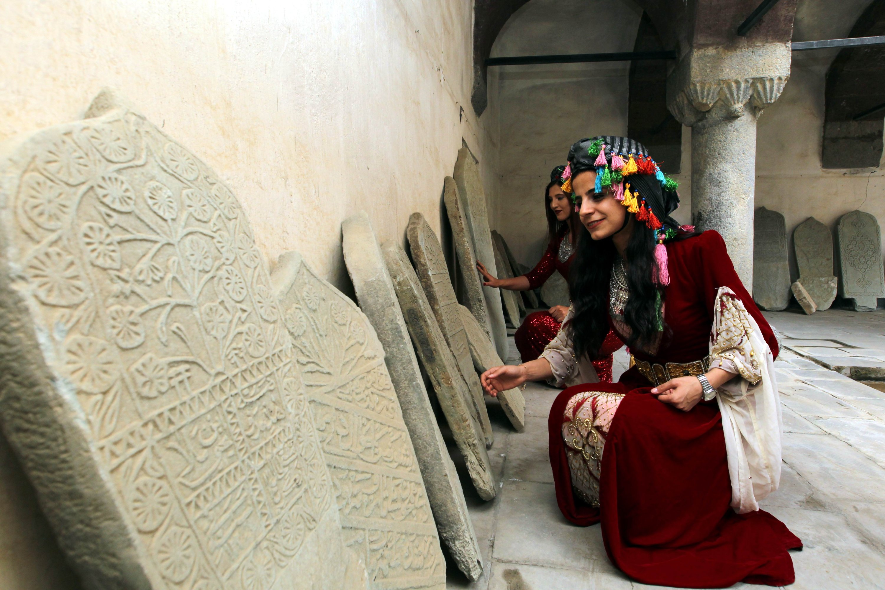 Works reflecting the history of Hakkari will be featured in the museum. (AA PHOTO)