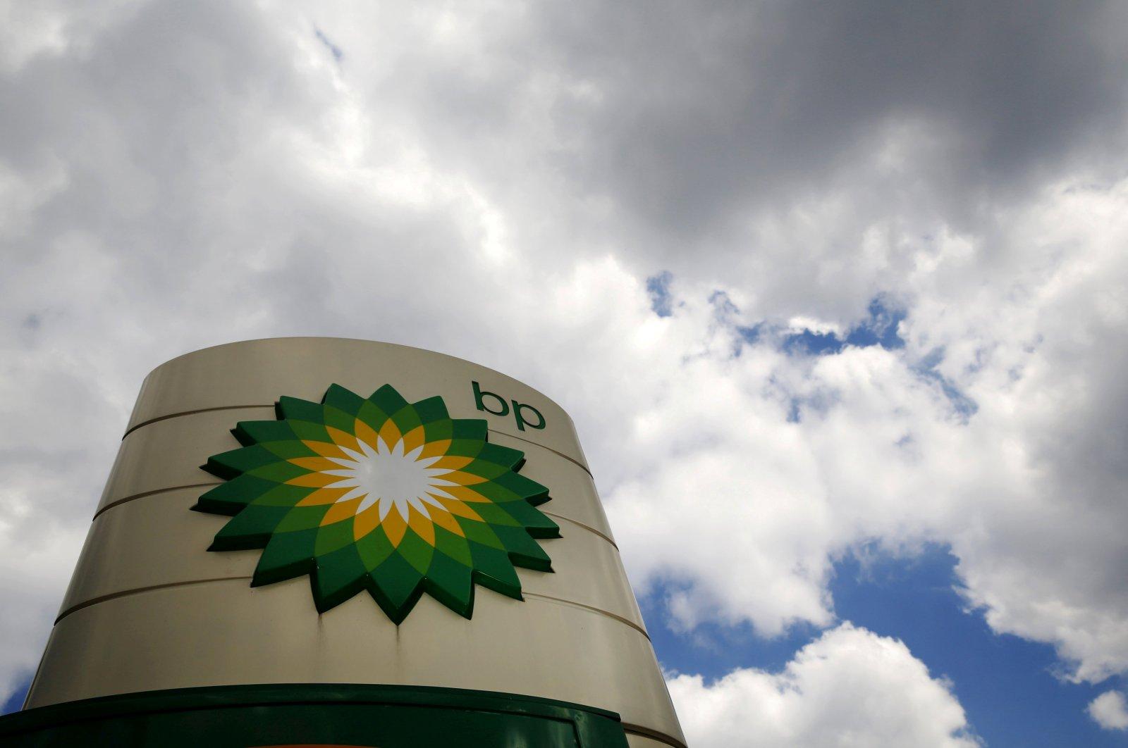 Signage at a BP petrol station in London, U.K. (Reuters Photo)