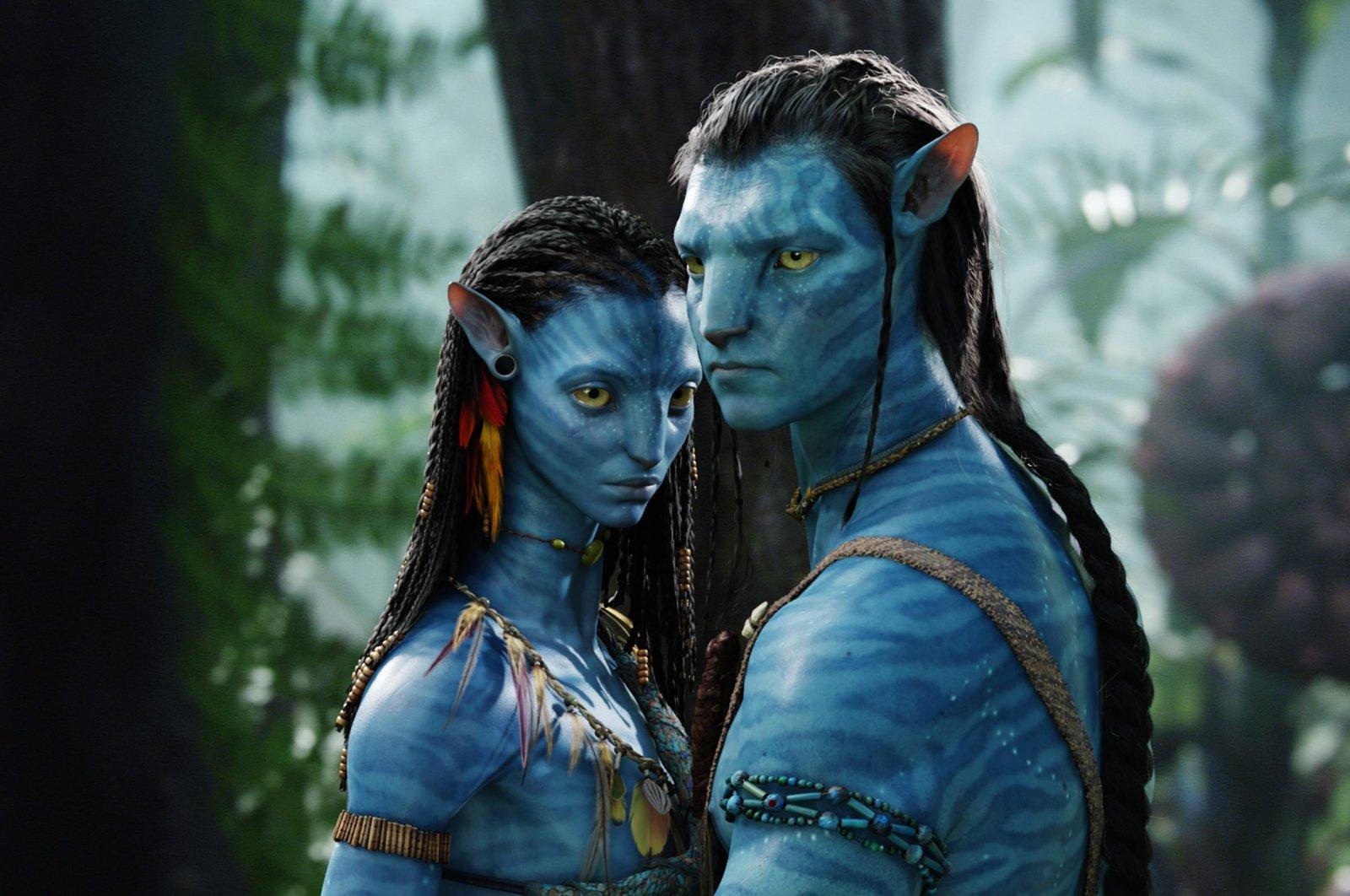 "A still shot from James Cameron's ""Avatar."""