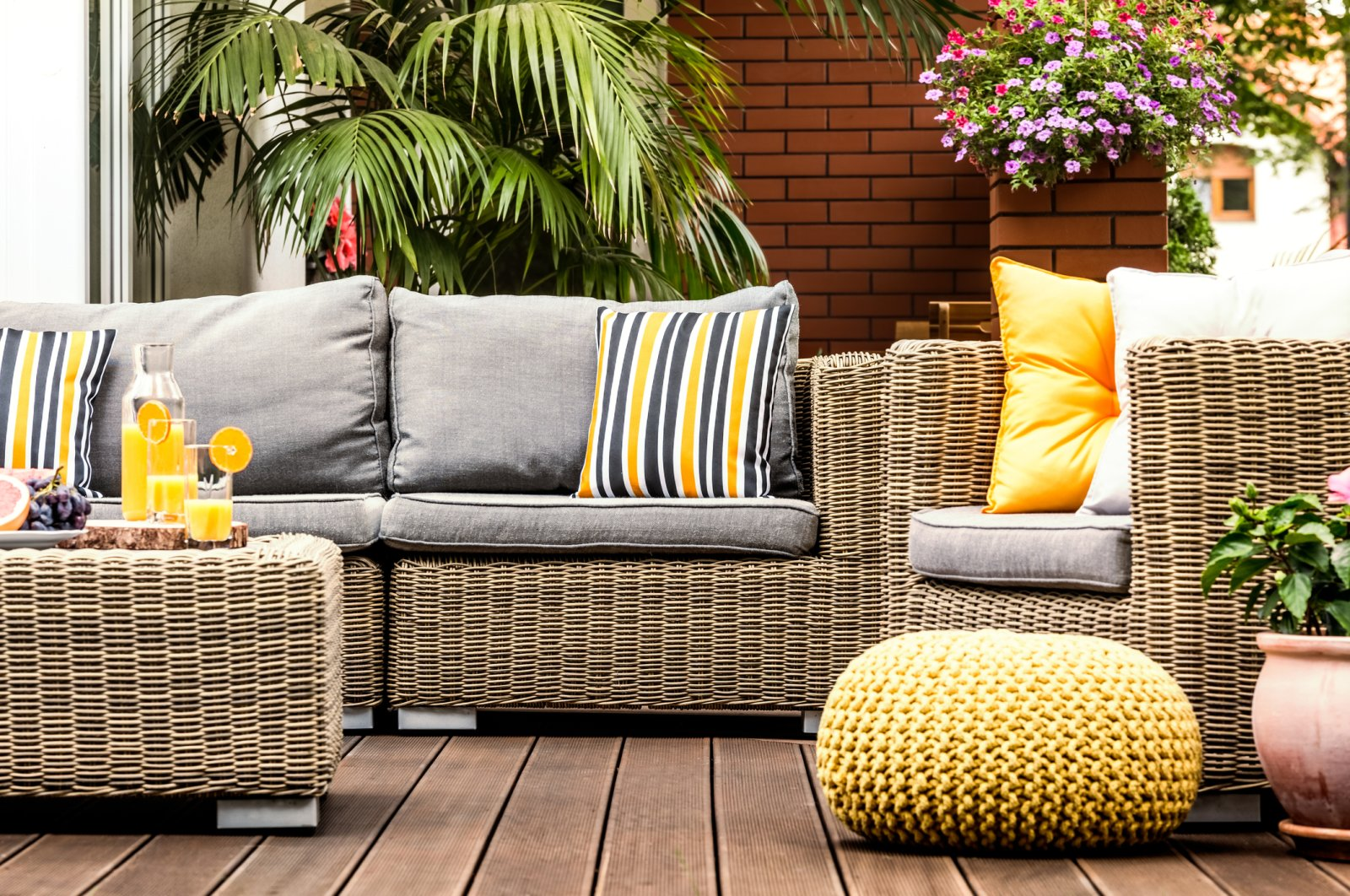 Redecorating your outdoor living spaces can transform your whole mood. (iStock Photo)