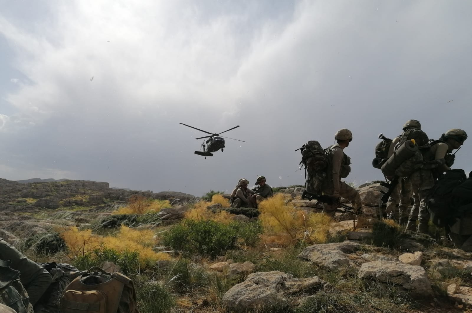 Turkish security forces regularly conduct counterterrorism operations in the eastern and southeastern provinces of Turkey where the PKK has attempted to establish a strong presence. (AA)