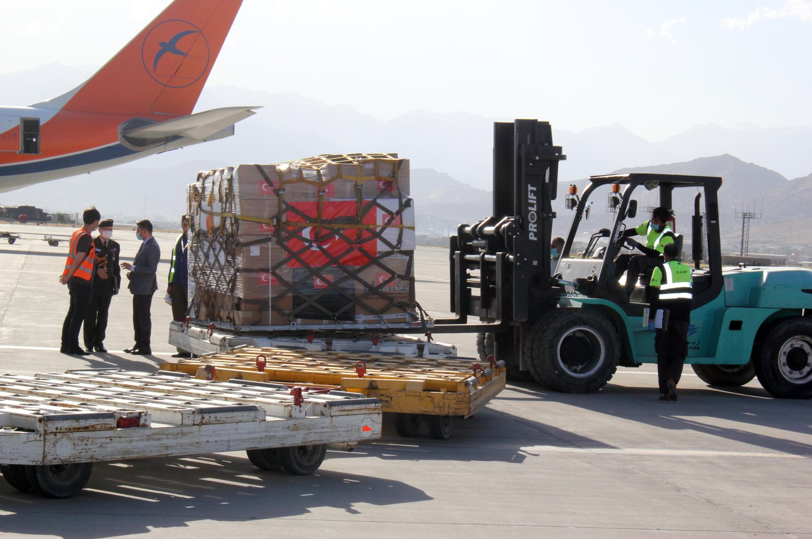 So far, Turkey has helped almost 130 countries with humanitarian aid during the outbreak, including the U.S., U.K., Italy and Spain, making it the world's third-largest provider of aid during the pandemic.