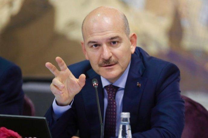 Interior Minister Süleyman Soylu.