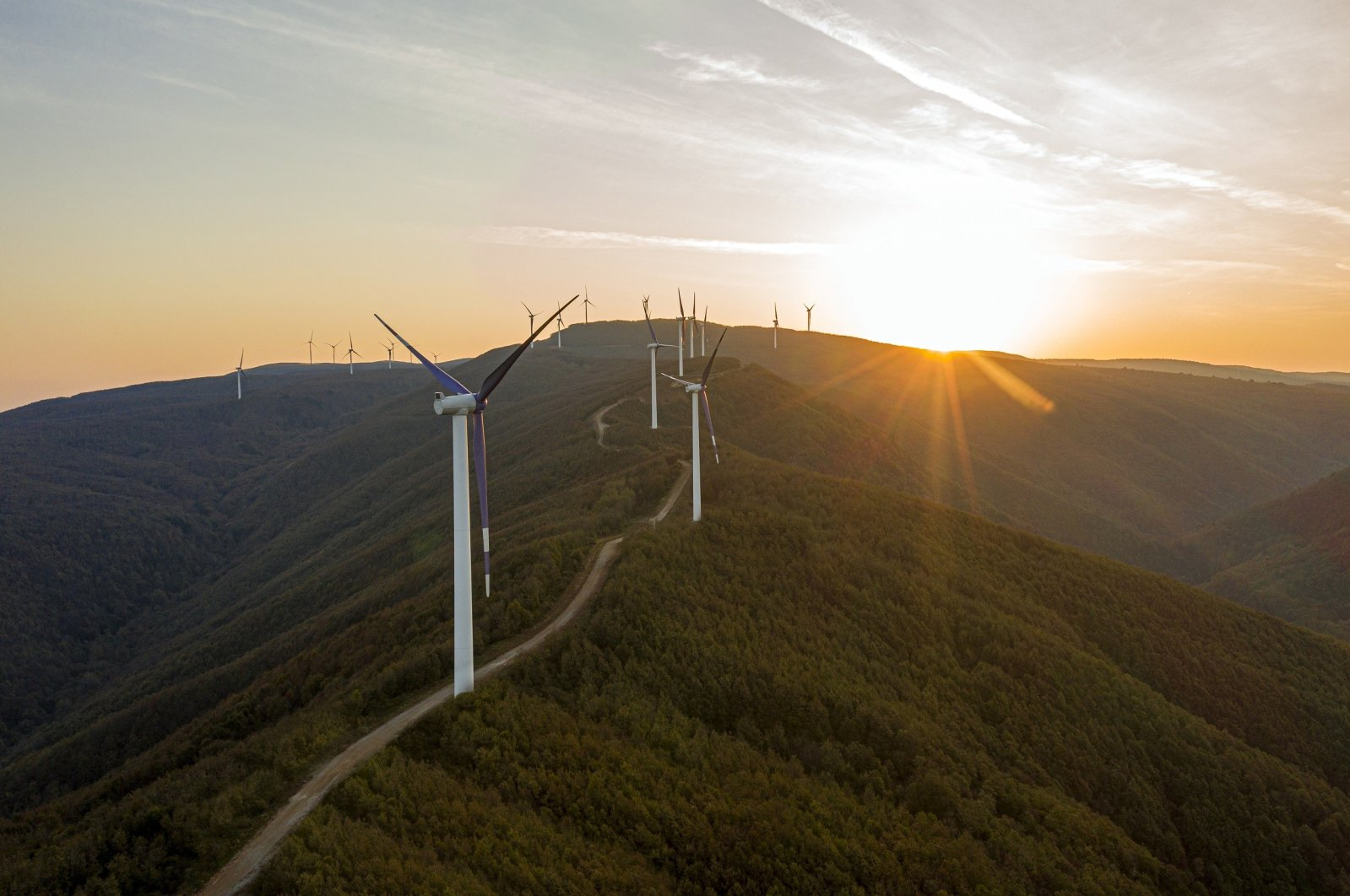 Turkey produced 66% of its electricity from local and renewable resources in the first five months of 2020. (IHA Photo)