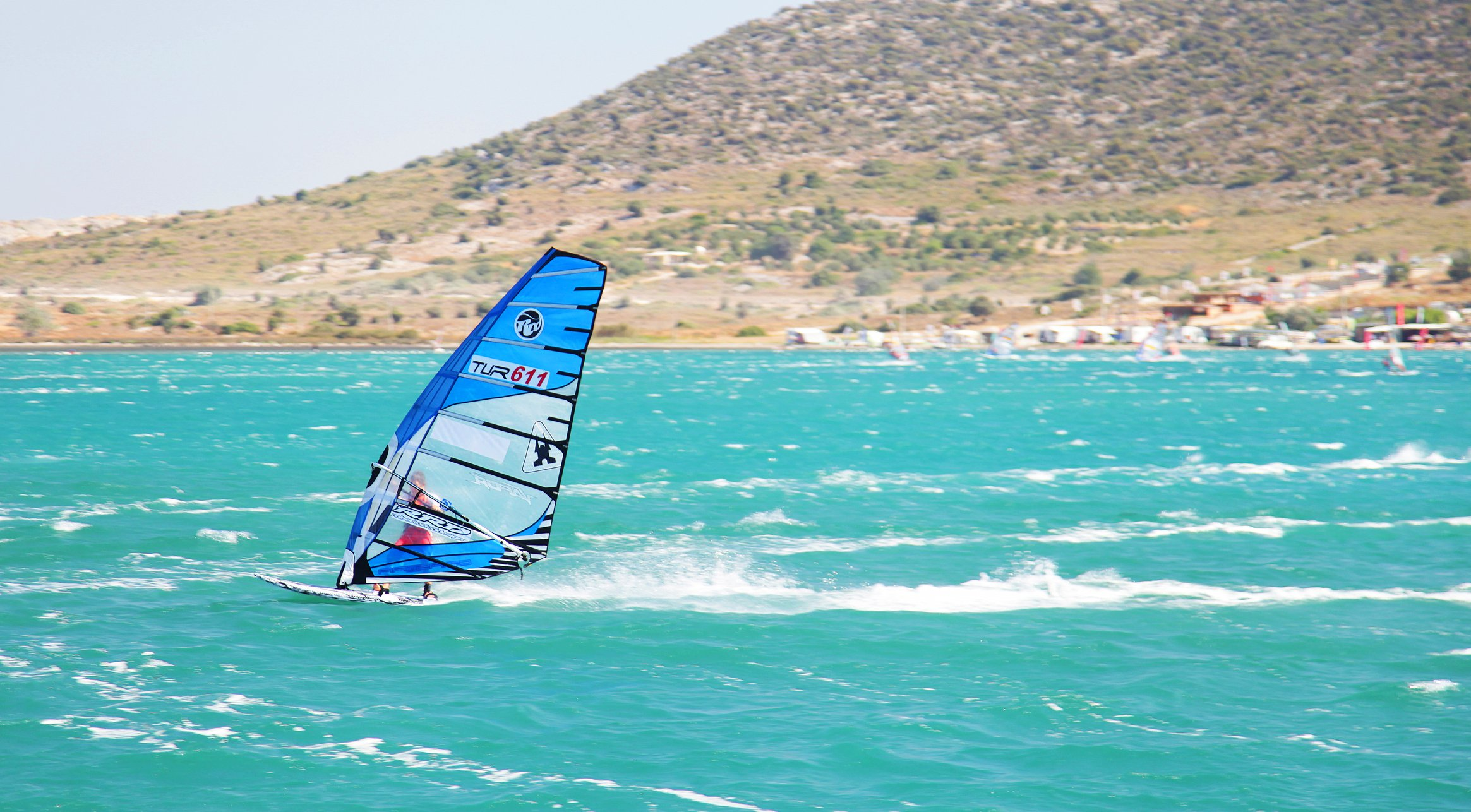 Alaçatı has been Turkey's top windsurfing destination for many years. (iStock Photo)