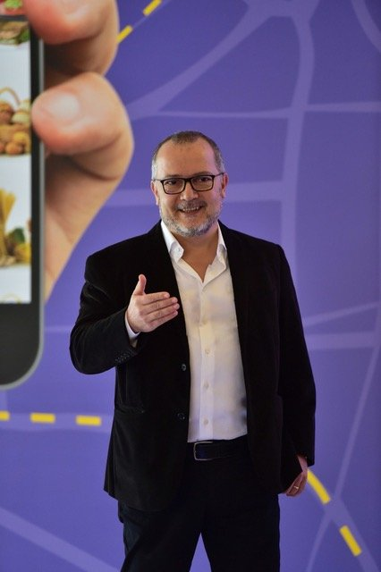 Fast-delivery startup Getir founder and CEO Nazım Salur.