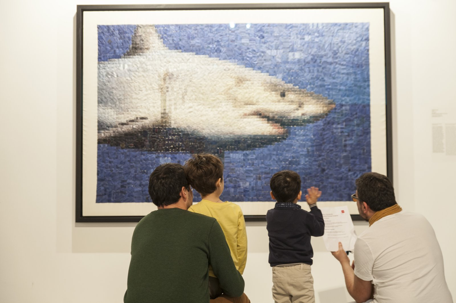 Dads can discover Istanbul Modern's collections with their children on Father's Day.