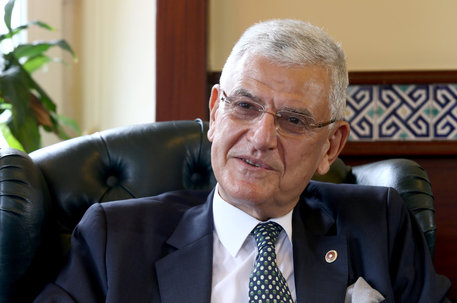 Volkan Bozkır, a former Turkish ambassador recently elected as the 75th president of the U.N. General Assembly. (AA Photo)