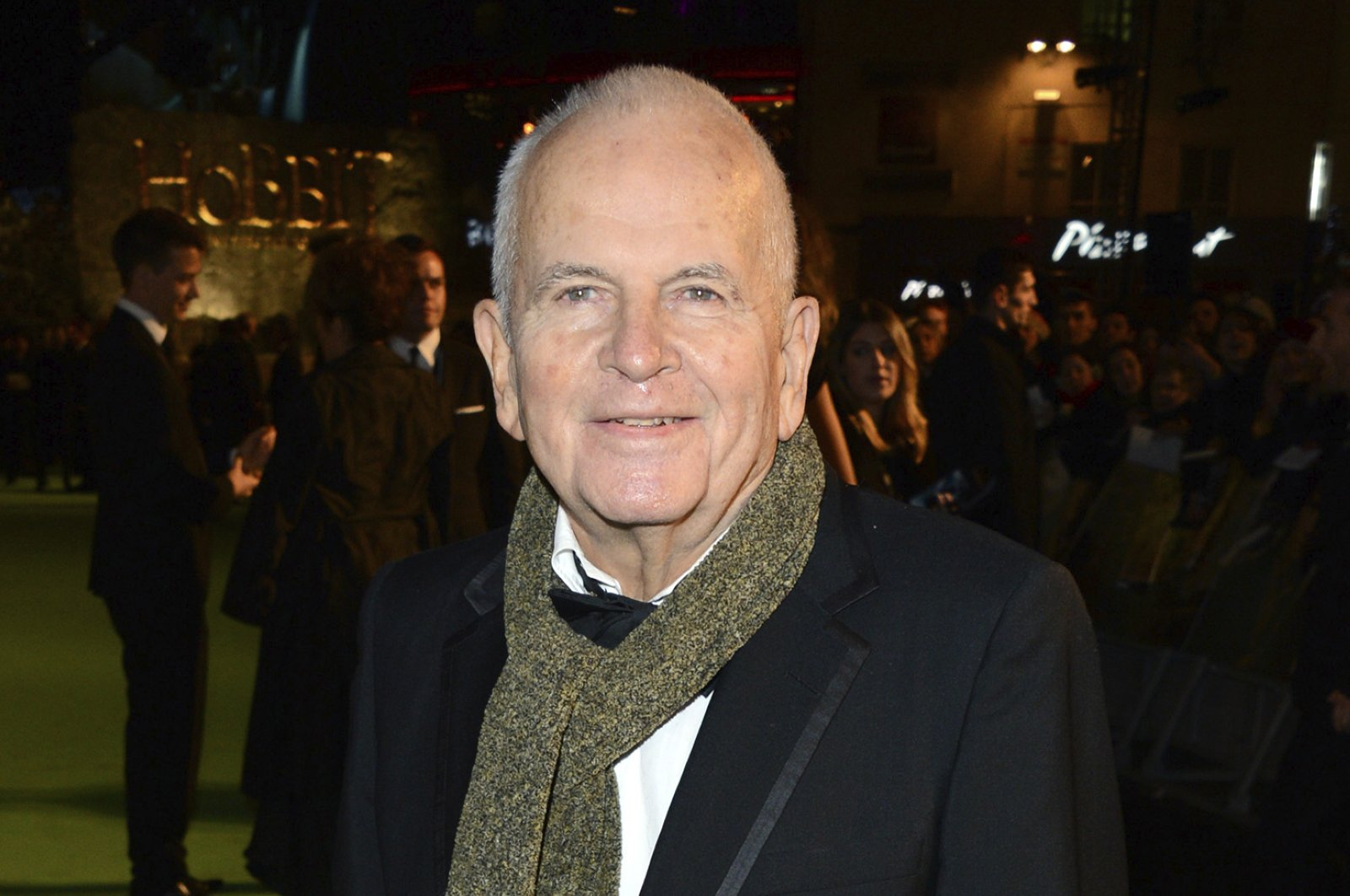 """In this Dec. 12, 2012 file photo, actor Ian Holm appears at the premiere of """"The Hobbit: An Unexpected Journey"""" in London. (AP PHOTO)"""