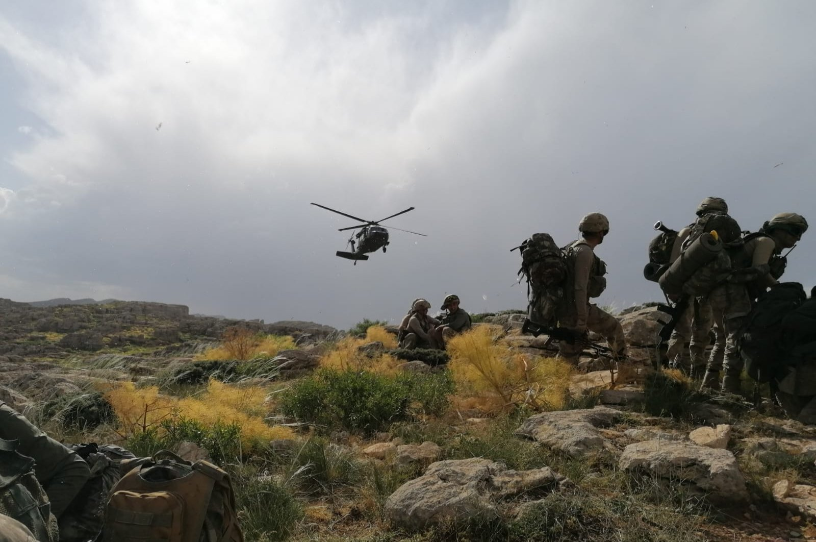 Turkish military regularly conducts operations targetting the PKK terror group in southeastern Turkey and northern Iraq, from which they carry out attacks in Turkey. (AA Photo)