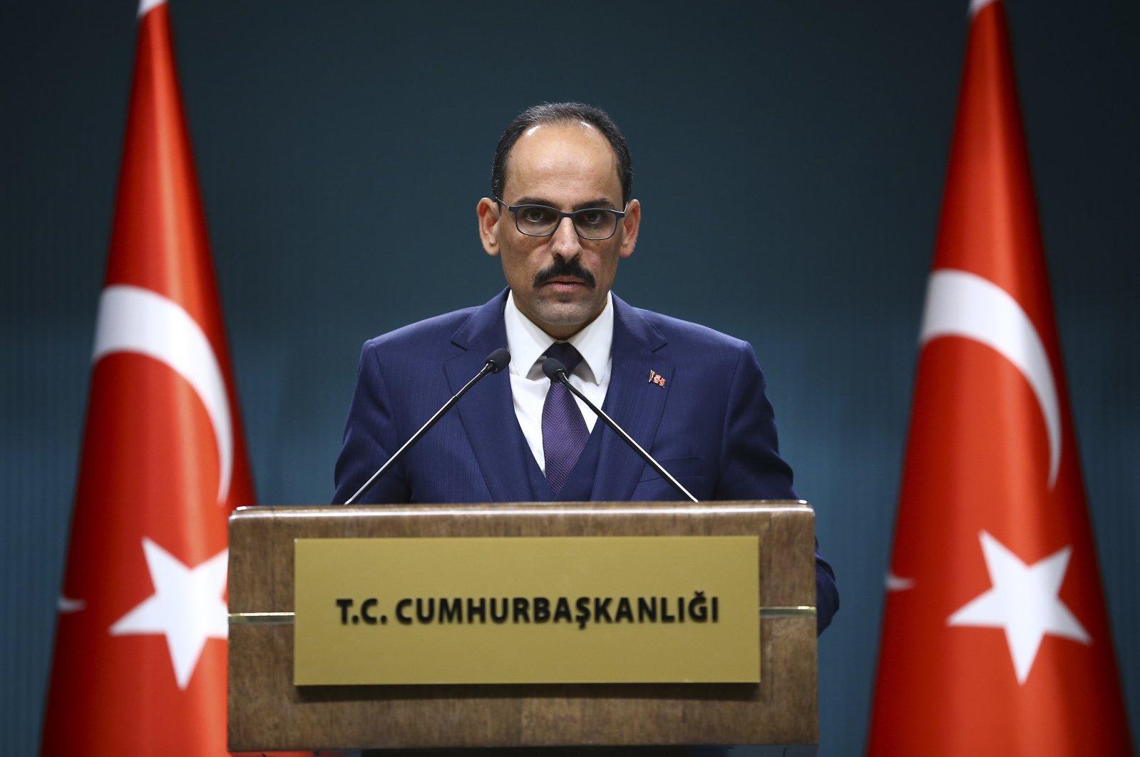 Presidential spokesperson Ibrahim Kalın (AA Photo)