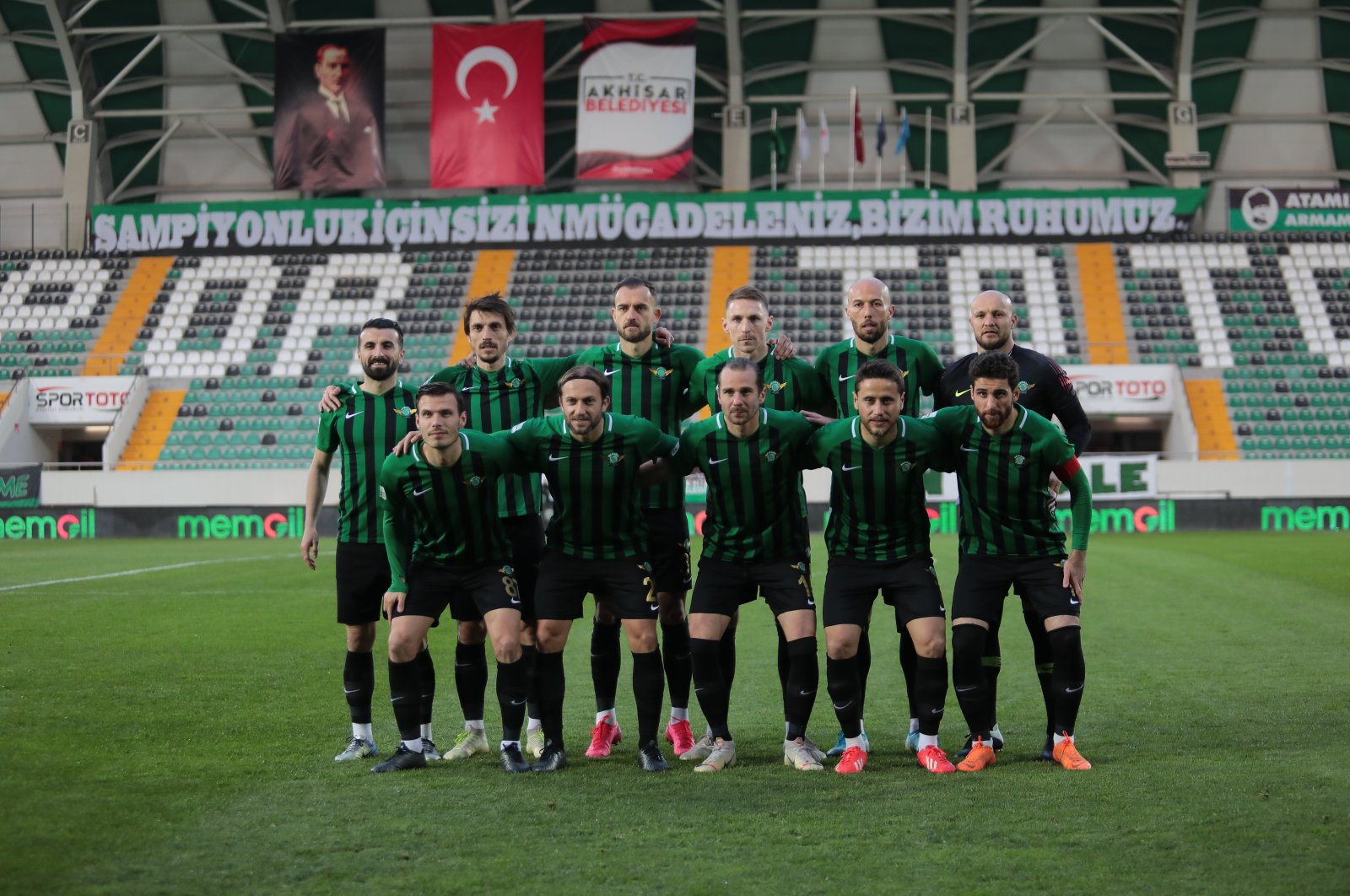 Akhisarspor competes in the second-tier football league of Turkey. (İHA Photo)