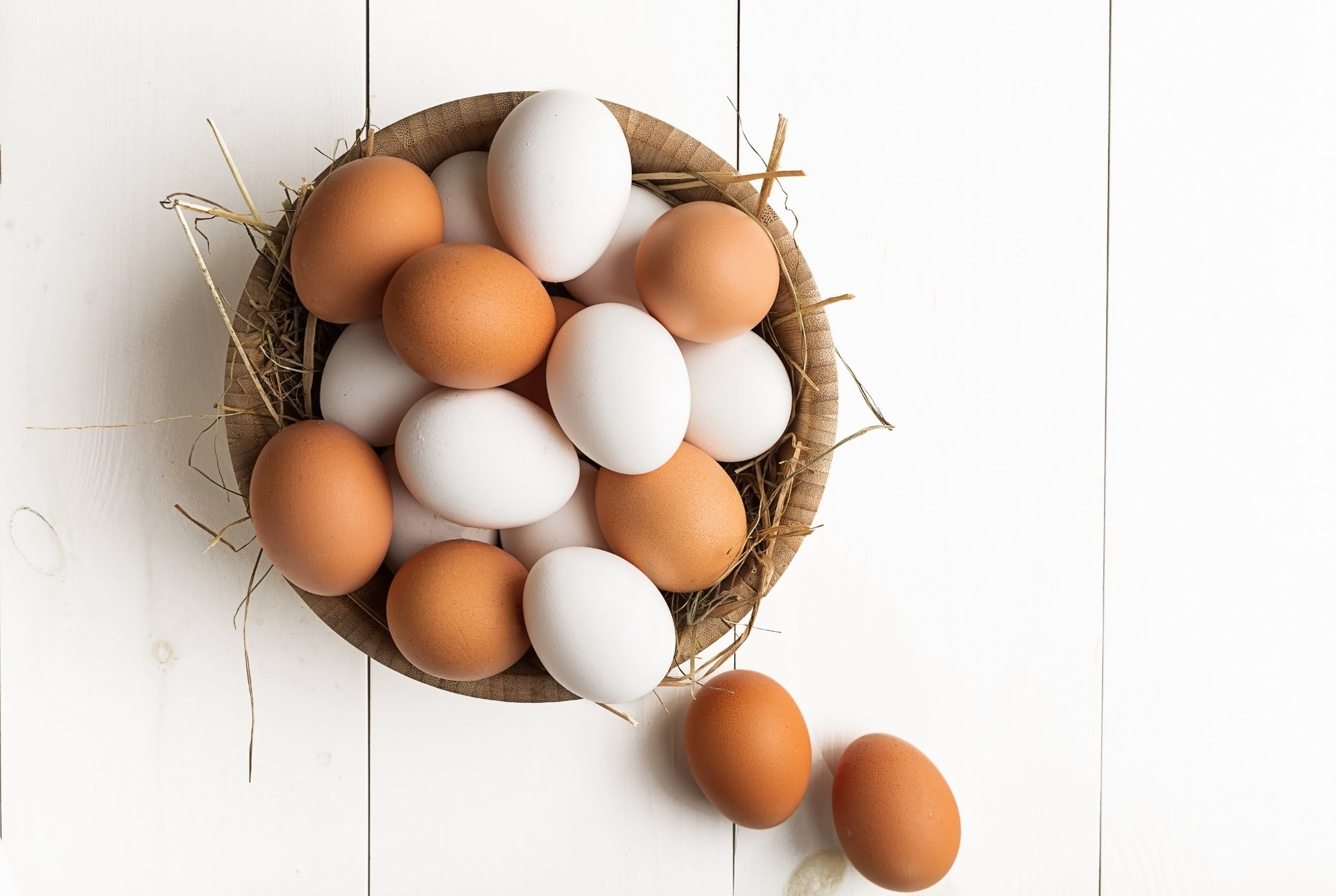 Eggs are one of the cheapest and easiest ways to get in some extra protein and tryptophan, which helps elevate the mood. (iStock Photo)