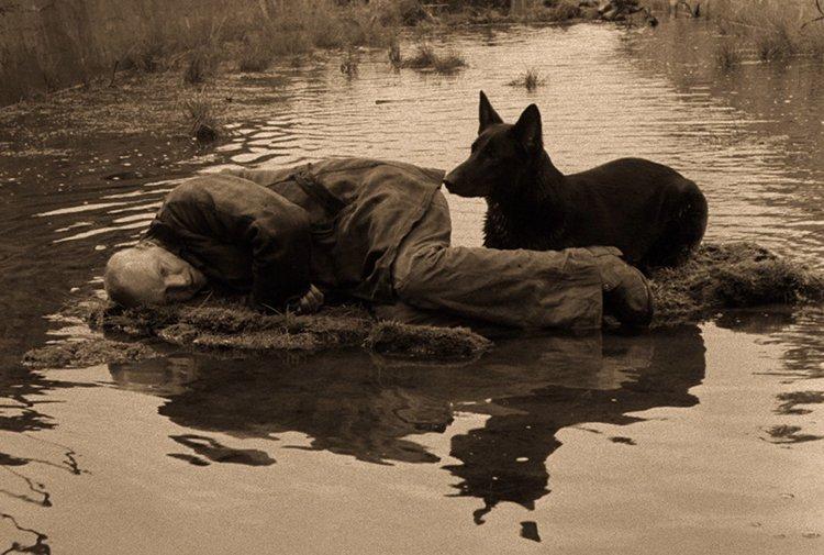 """Still shot from Tarkovsky's """"Stalker."""""""