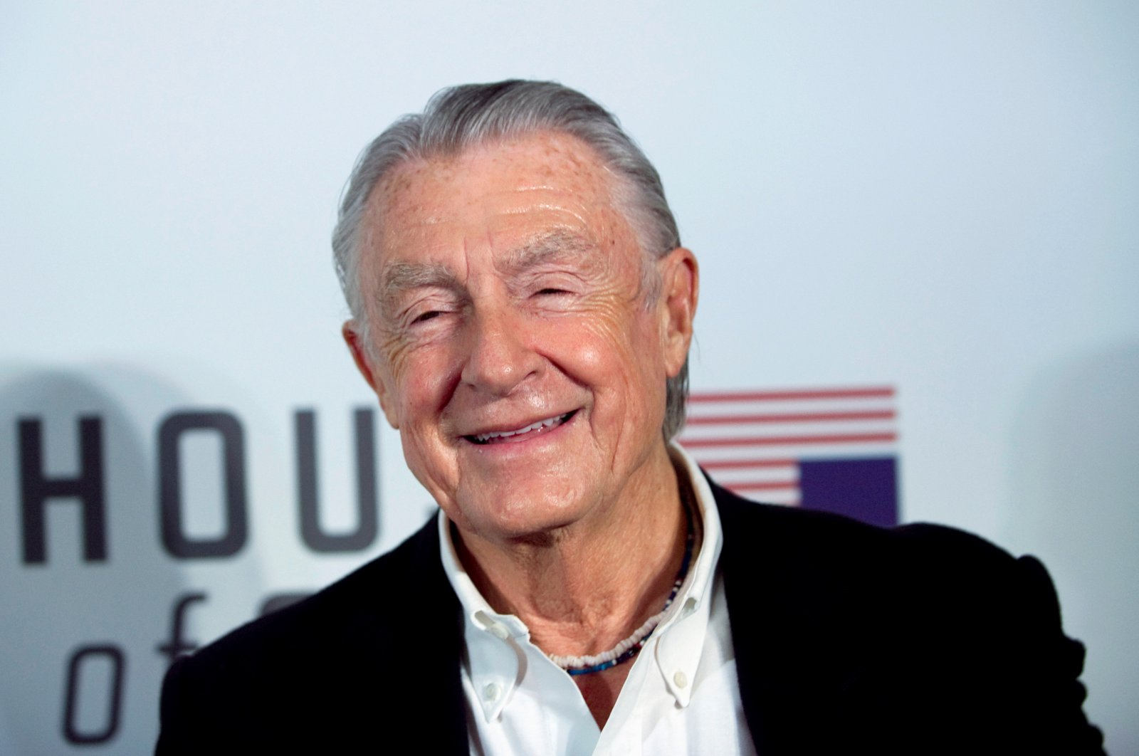 """Film director Joel Schumacher arrives at the premiere of Netflix's television series """"House of Cards"""" at Alice Tully Hall in the Lincoln Center in New York City, Jan. 30, 2013. (Reuters Photo)"""