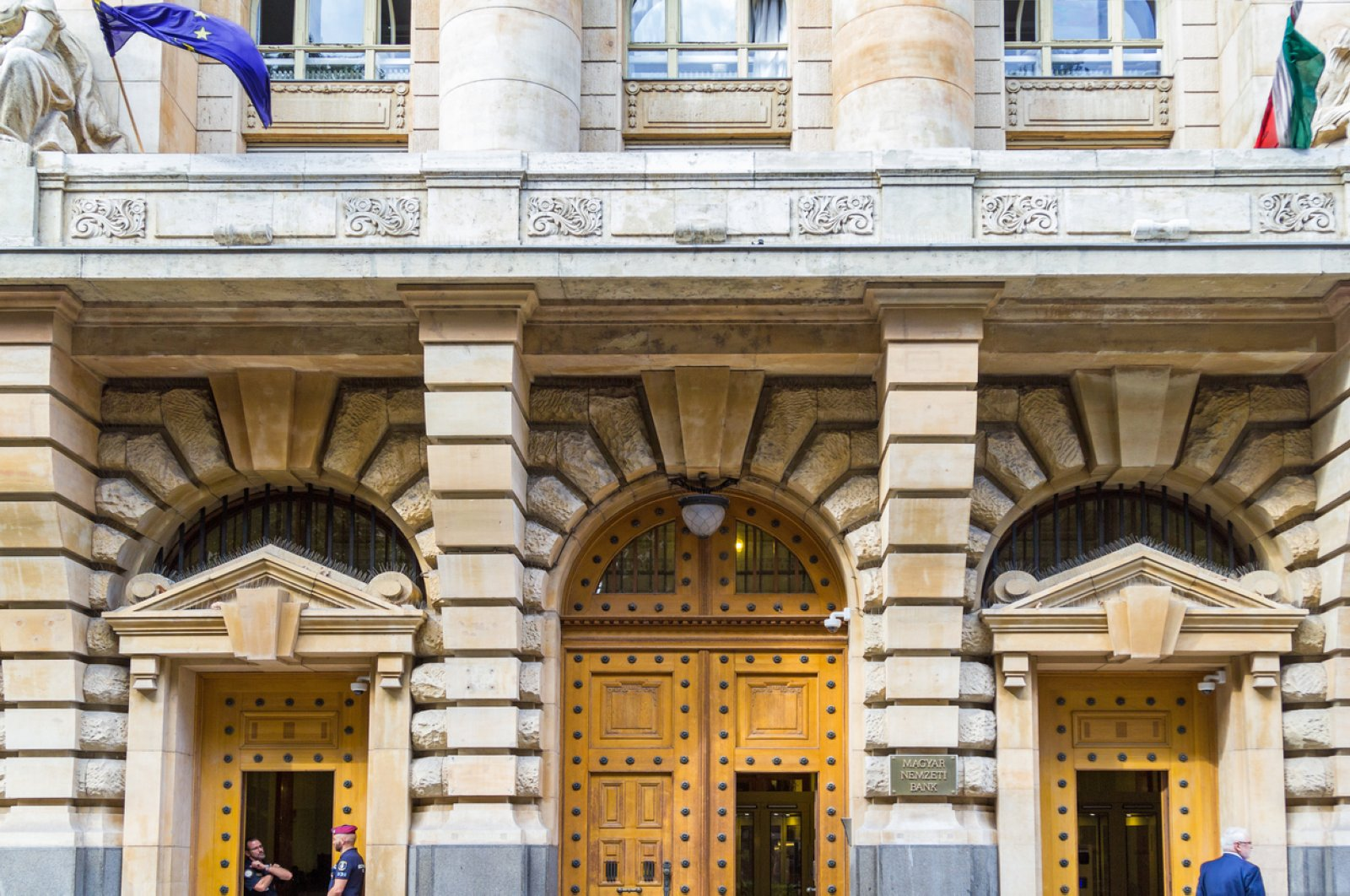 The Central Bank of Hungary seen in the central of Budapest in this file photo from Sept. 17, 2019. (iStock Photo)