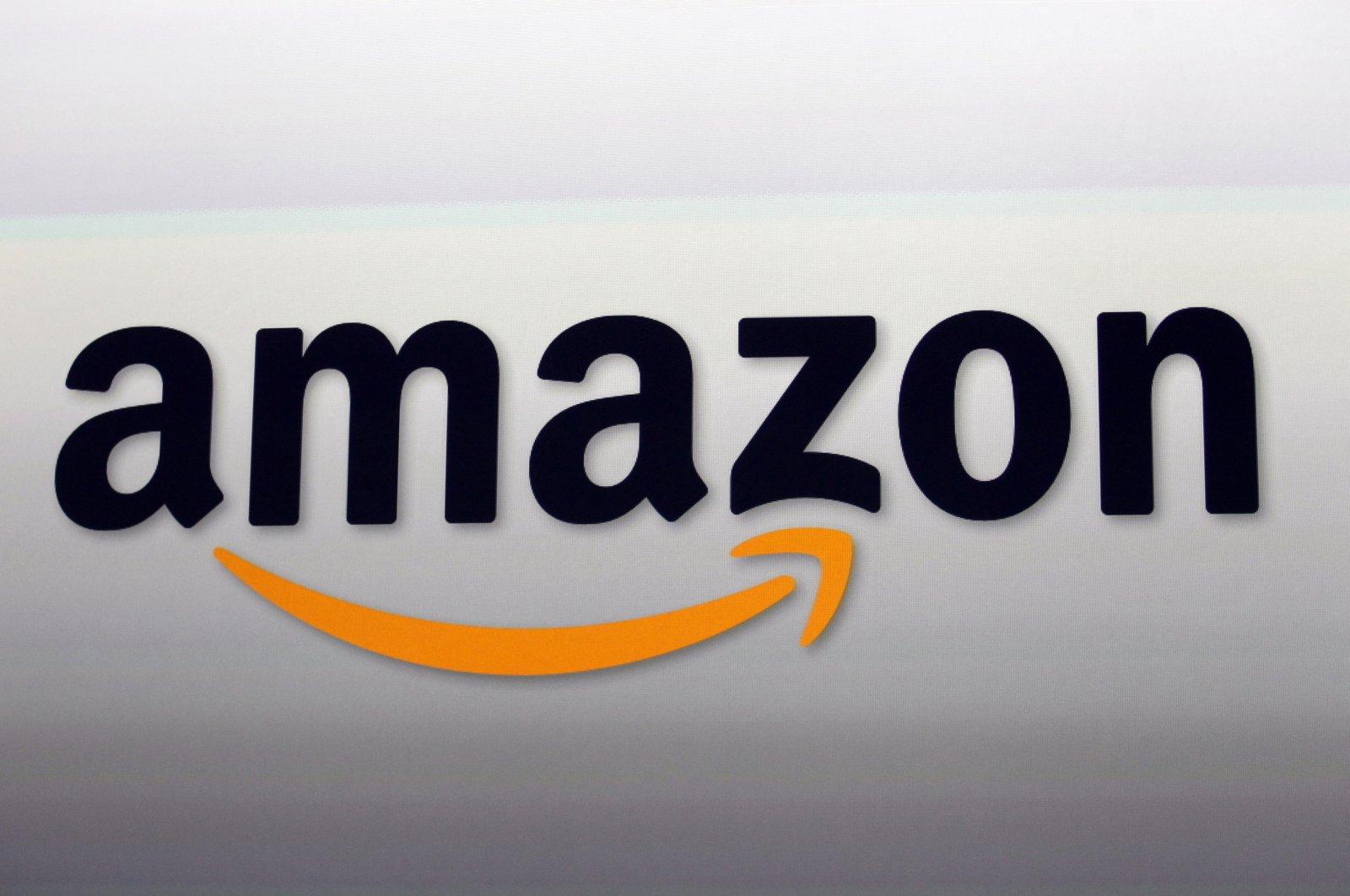 The file photo shows the Amazon logo in Santa Monica, California, Sept. 6, 2012. (AP Photo)