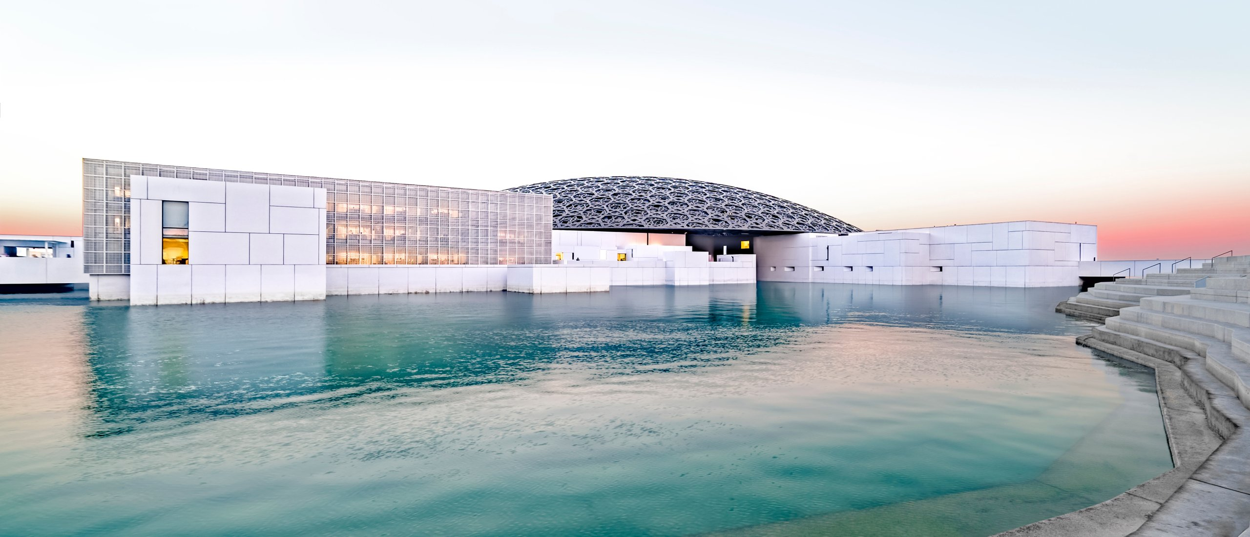 The Louvre Abu Dhabi is located in the Saadiyat Island Cultural District. (SHUTTERSTOCK PHOTO)
