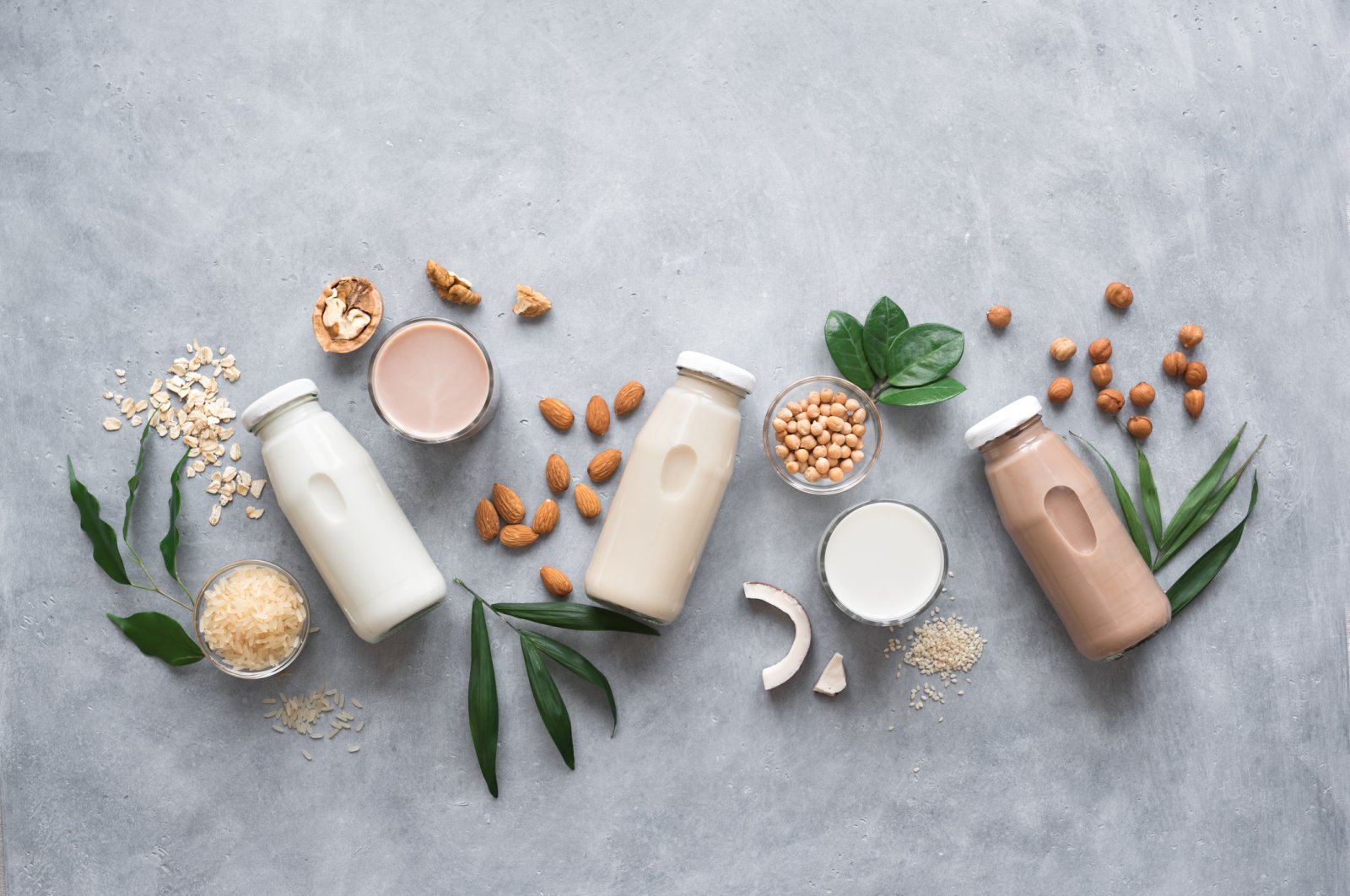 When dairy and lactose just don't agree with you, there are plenty of plant-based milks to choose from. (iStock Photo)