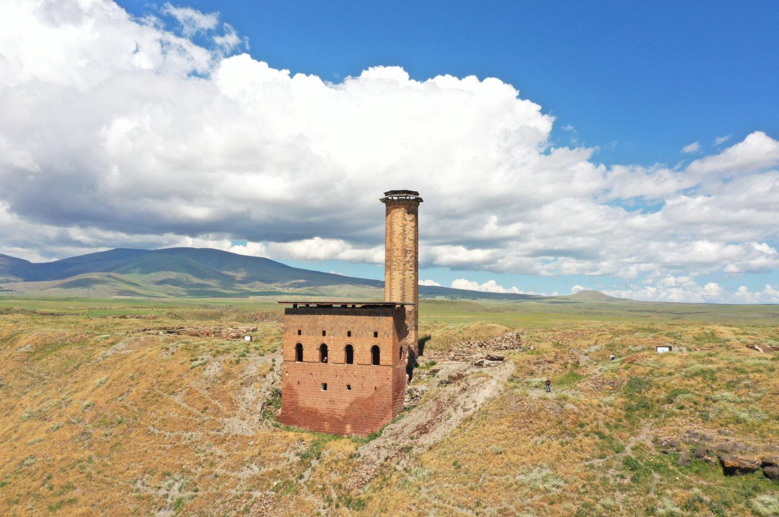 The Ebu'l Manuçehr Mosque was built after Seljuks won the Battle of Manzikert in 1071. (AA Photo)