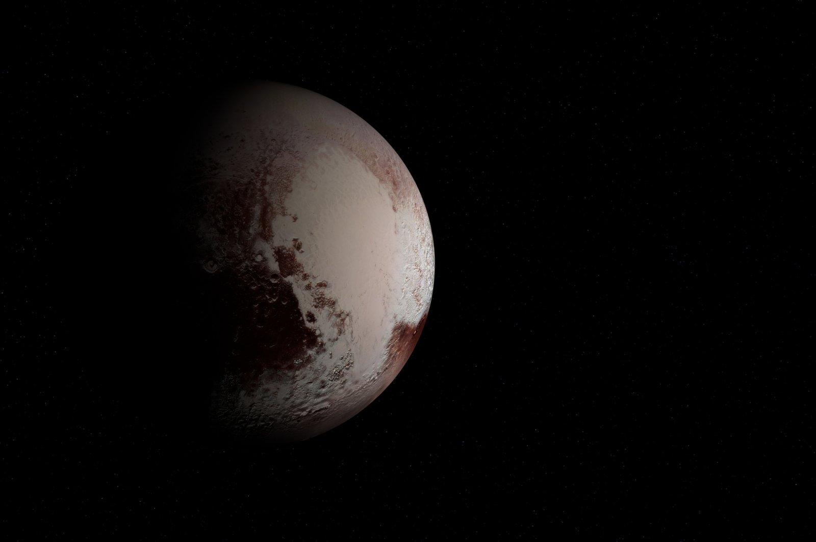 Researchers long thought that Pluto began as an icy sphere at the edge of our solar system. (iStock Photo)