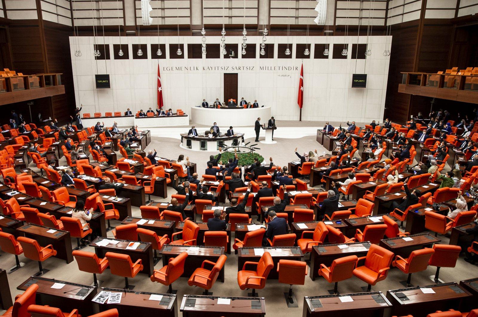 Turkish parliament nullifies decisions that were taken back in the 1960's Yassıada trials, Ankara, June 24, 2020. (AA)