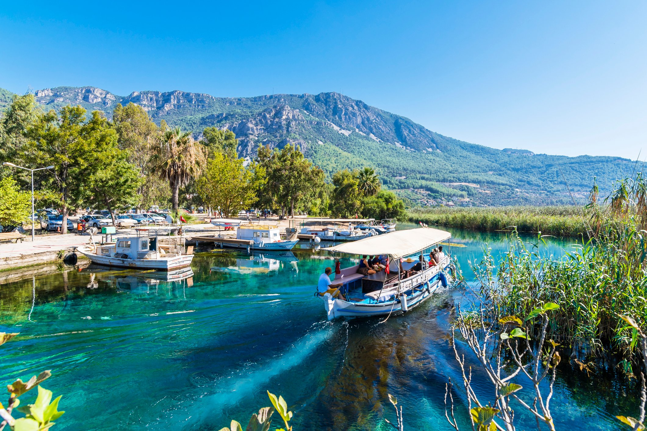 Once you are settled, you can take a tour on the Azmak River in Akyaka village. (iStock Photo)
