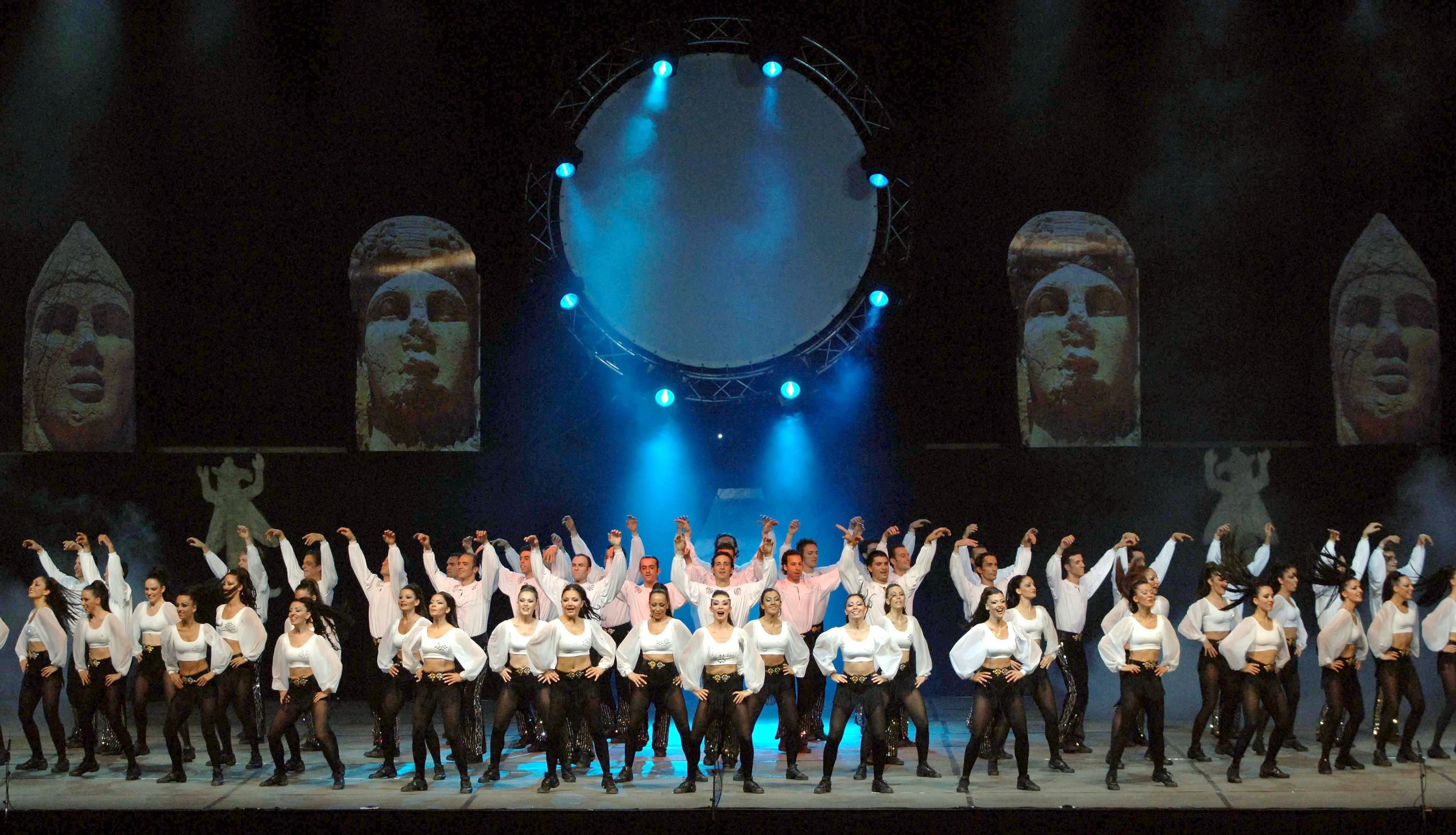 An undated photo from the 759th performance by Fire of Anatolia at Paris Bercy Sports Compex. (AA PHOTO)