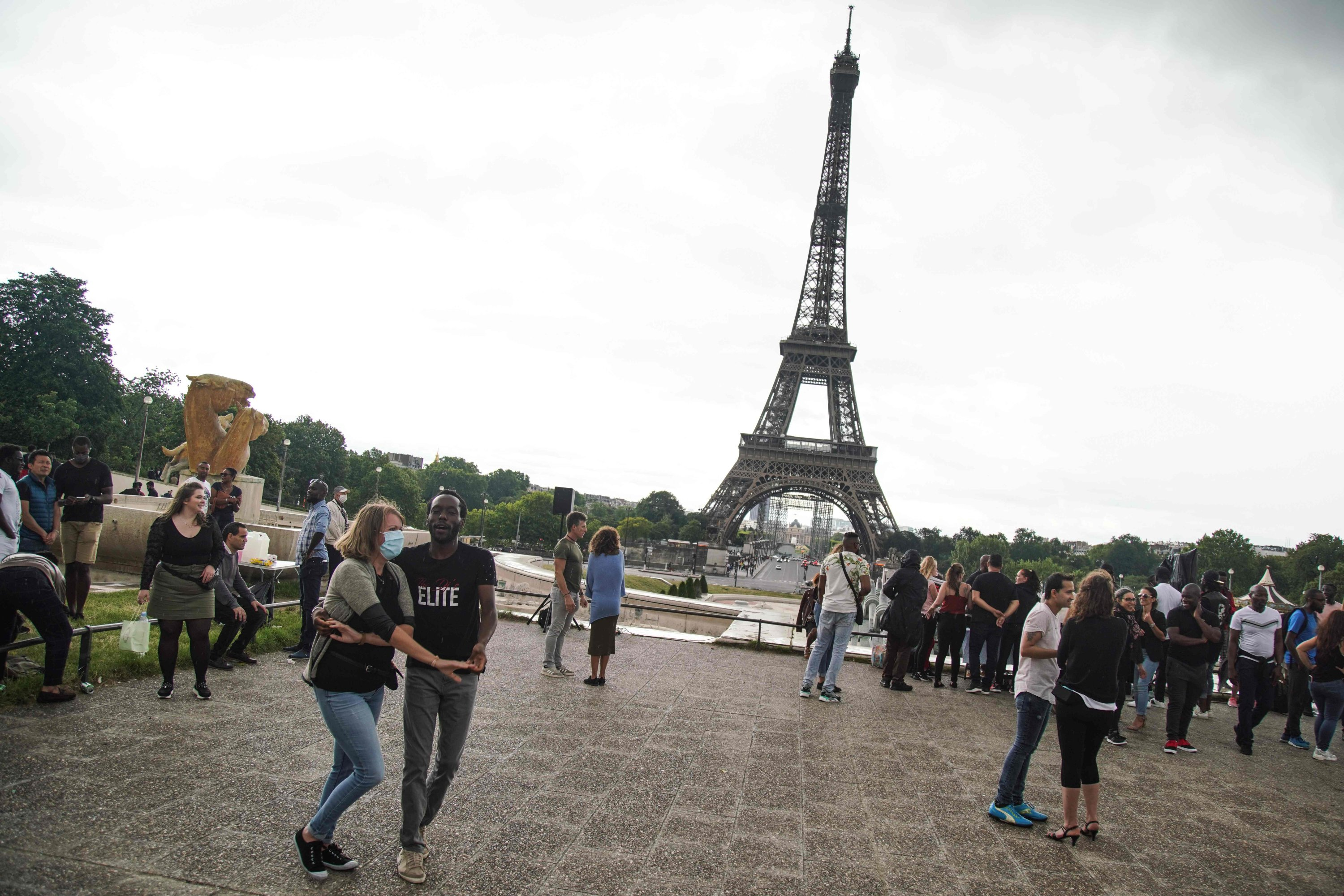 COVID-19: Eiffel Tower Reopens In Paris After 104-Day Virus Lockdown