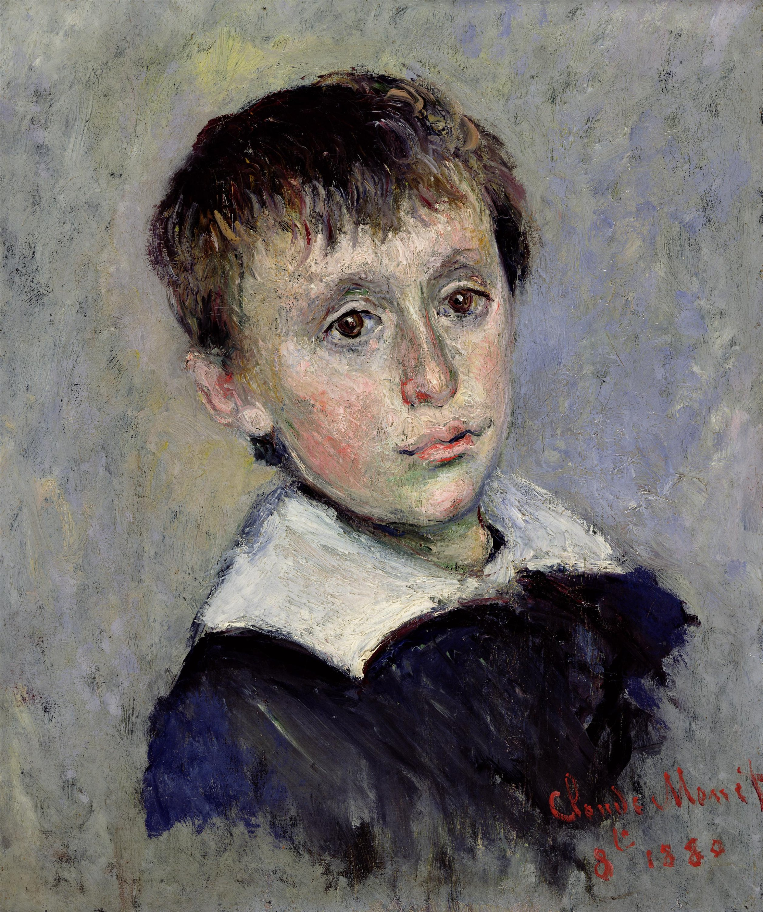 'Portrait of Jean Monet' depicts Camille and Claude's first child. (Courtesy of SSM)