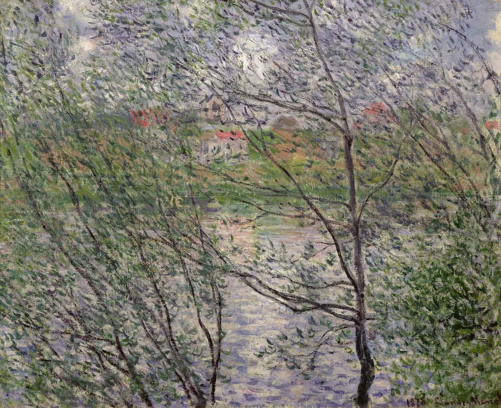 Monet painted
