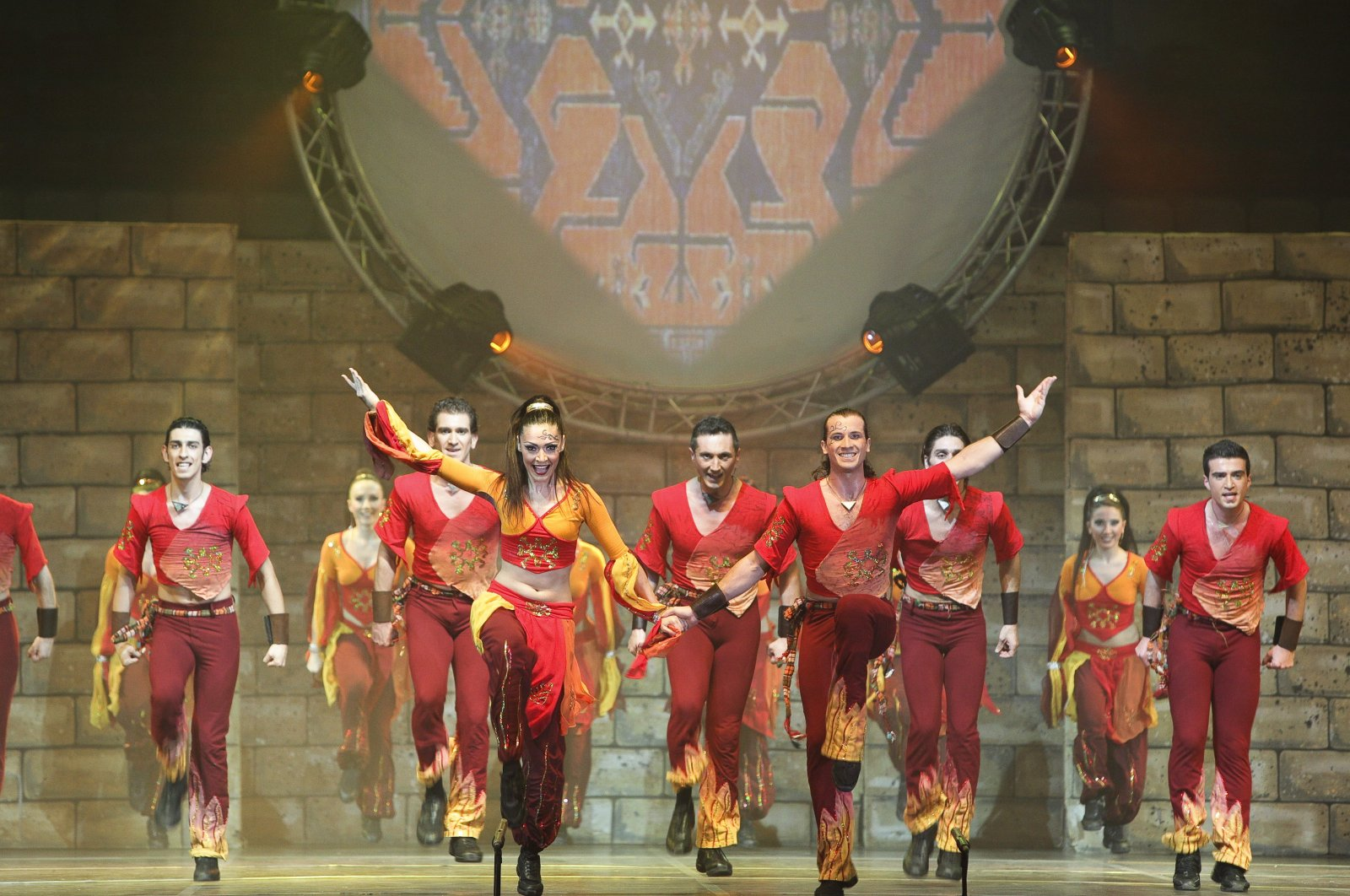 Fire of Anatolia has performed in many places around the world to date. (AA PHOTO)