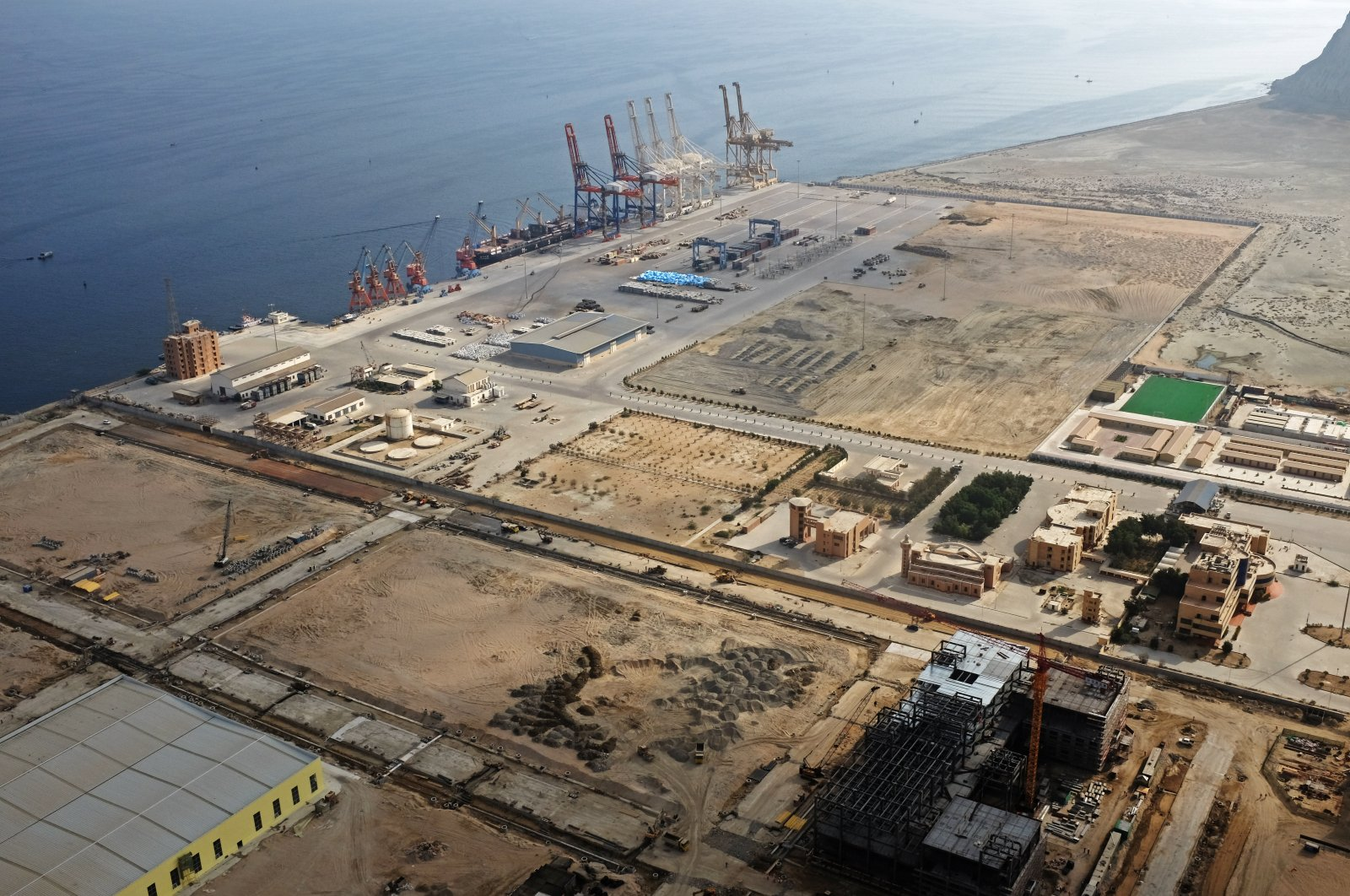 A general view of Gwadar port in Gwadar, Pakistan October 4, 2017.  (Reuters Photo)
