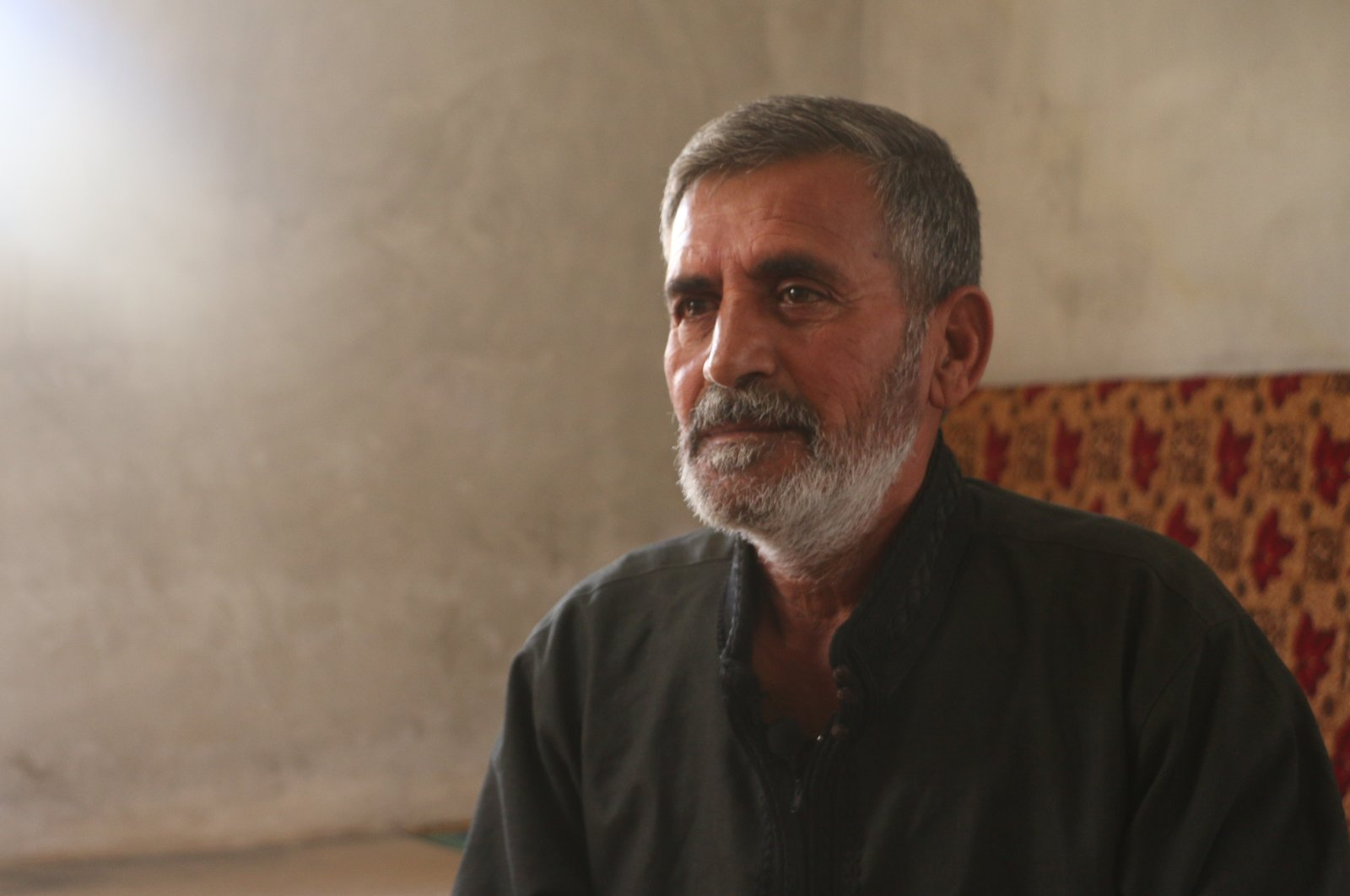 Muhammed Rahimo, 56, was jailed at various Syrian regime prisons for over five years, despite being not guilty of any crime. (AA)