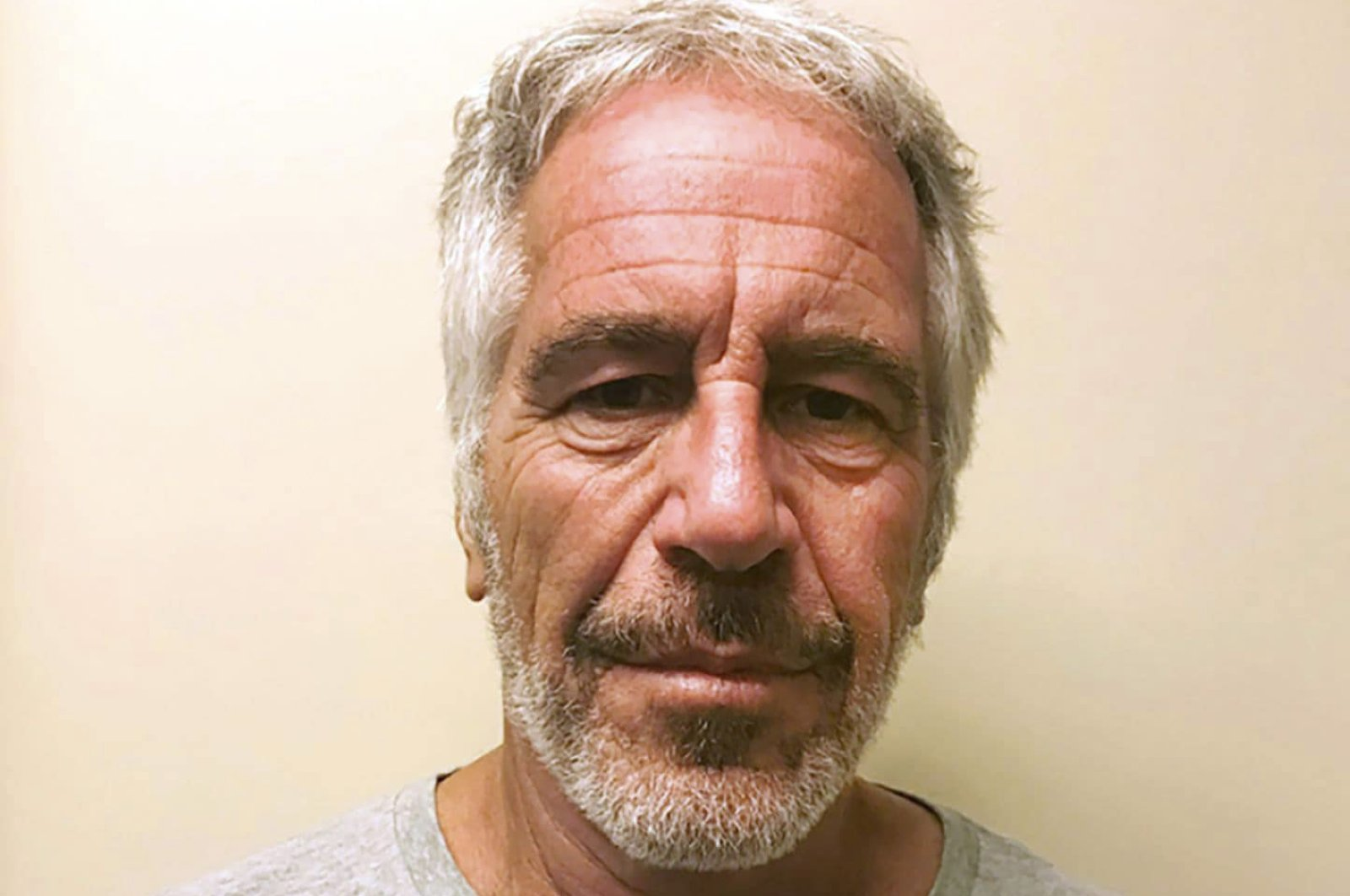 This file photo, provided by the New York State Sex Offender Registry, shows Jeffrey Epstein, March 28, 2017. (New York State Sex Offender Registry via AP)