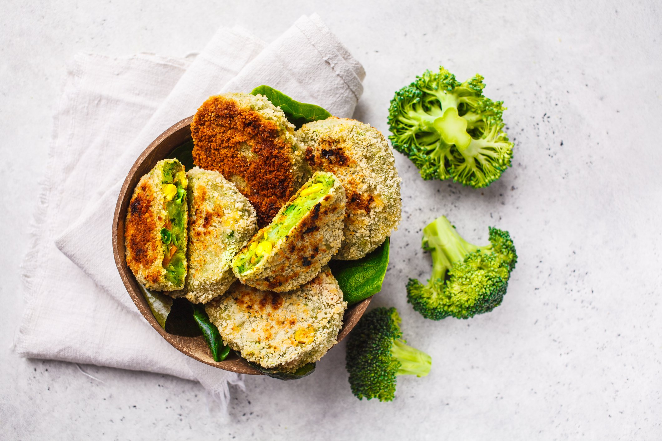 Using vegetables in different forms such as patties or nuggets is a great way for kids to like them. (iStock Photo)
