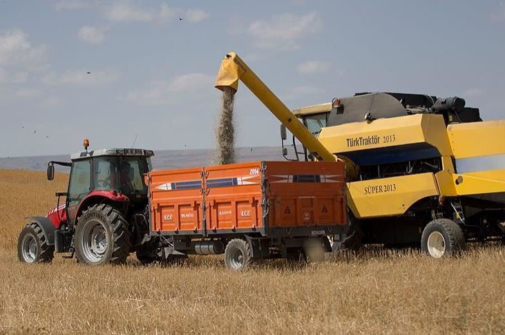 Turkey exports 1,827 different agricultural products to 193 countries. (AA File Photo)