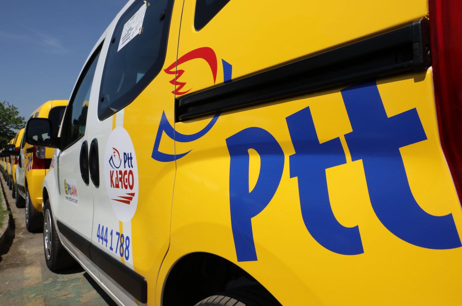 The PTT's logo is seen on a car at Tofaş Fiat automotive factory in Bursa, Turkey, April 29, 2018. (AA Photo)