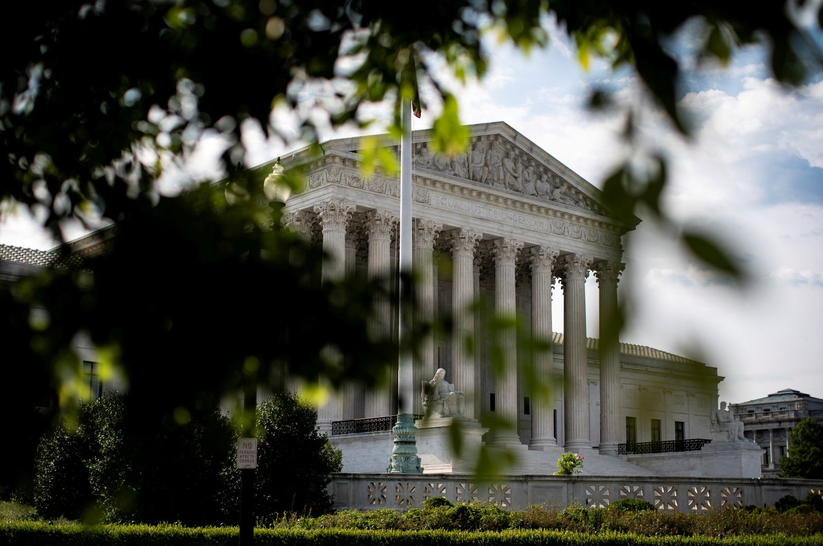 A general view of U.S. Supreme Court in Washington, U.S., June 25, 2020. (Reuters Photo)