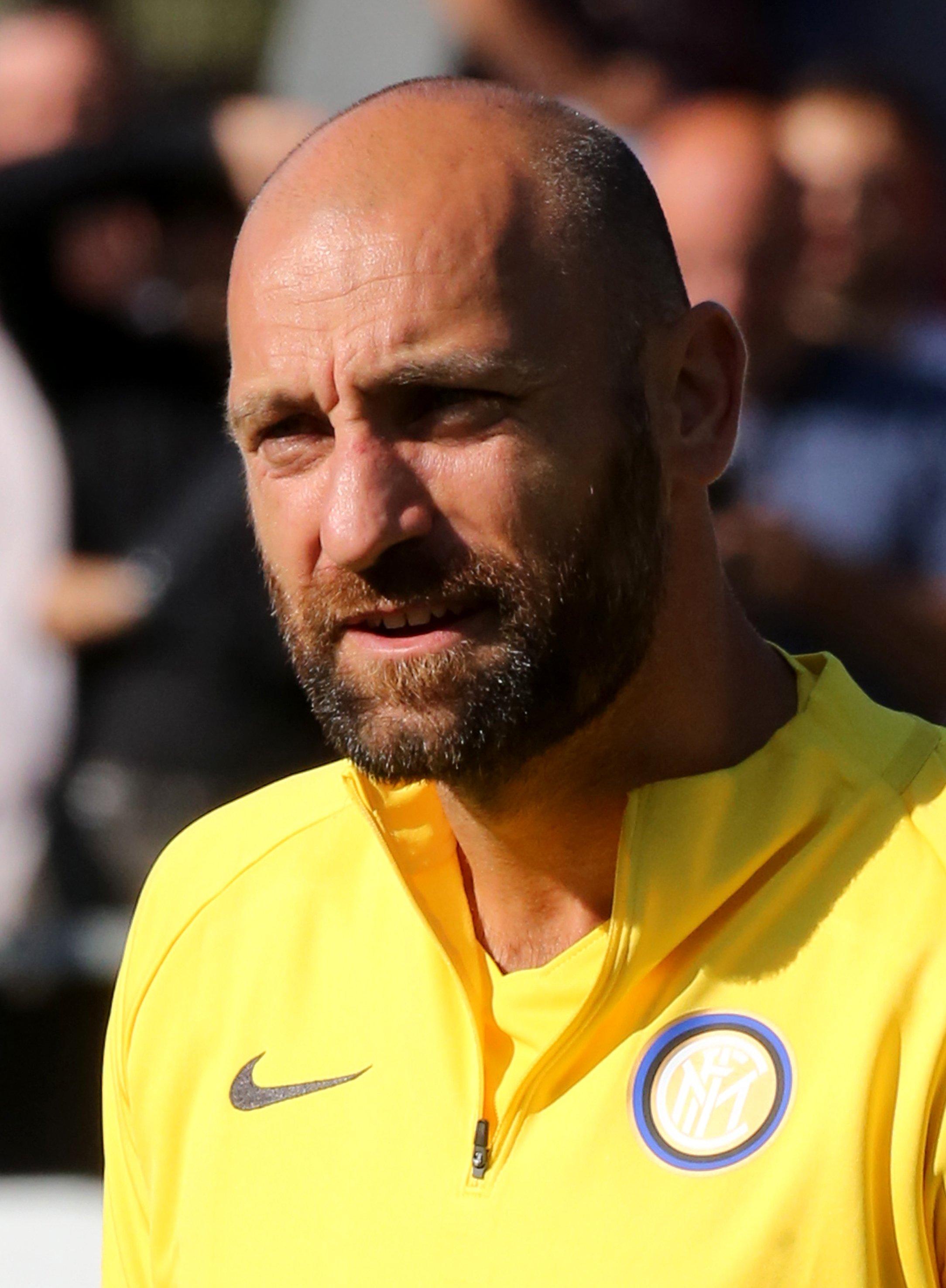 Inter Milan goalkeeper Tommaso Berni. (Reuters Photo)