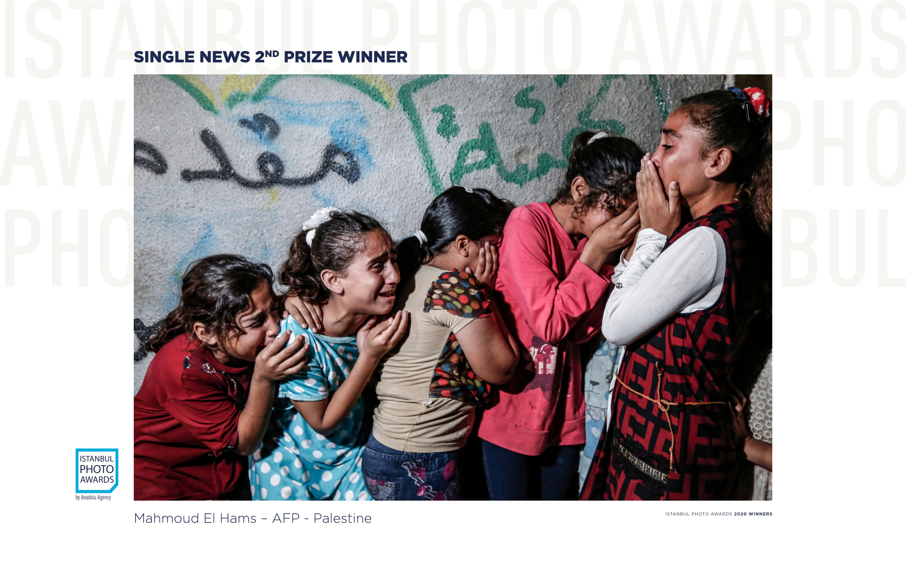 Mahmoud el Hams came in second with his photo titled