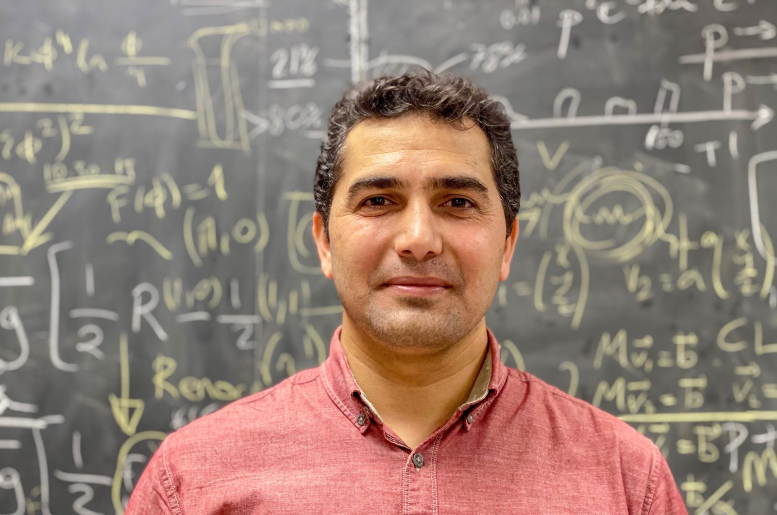 33-year-old Emrah Tıraş wants to establish in Turkey an international neutrino research center and R&D detector project in the coming years. (DHA Photo)