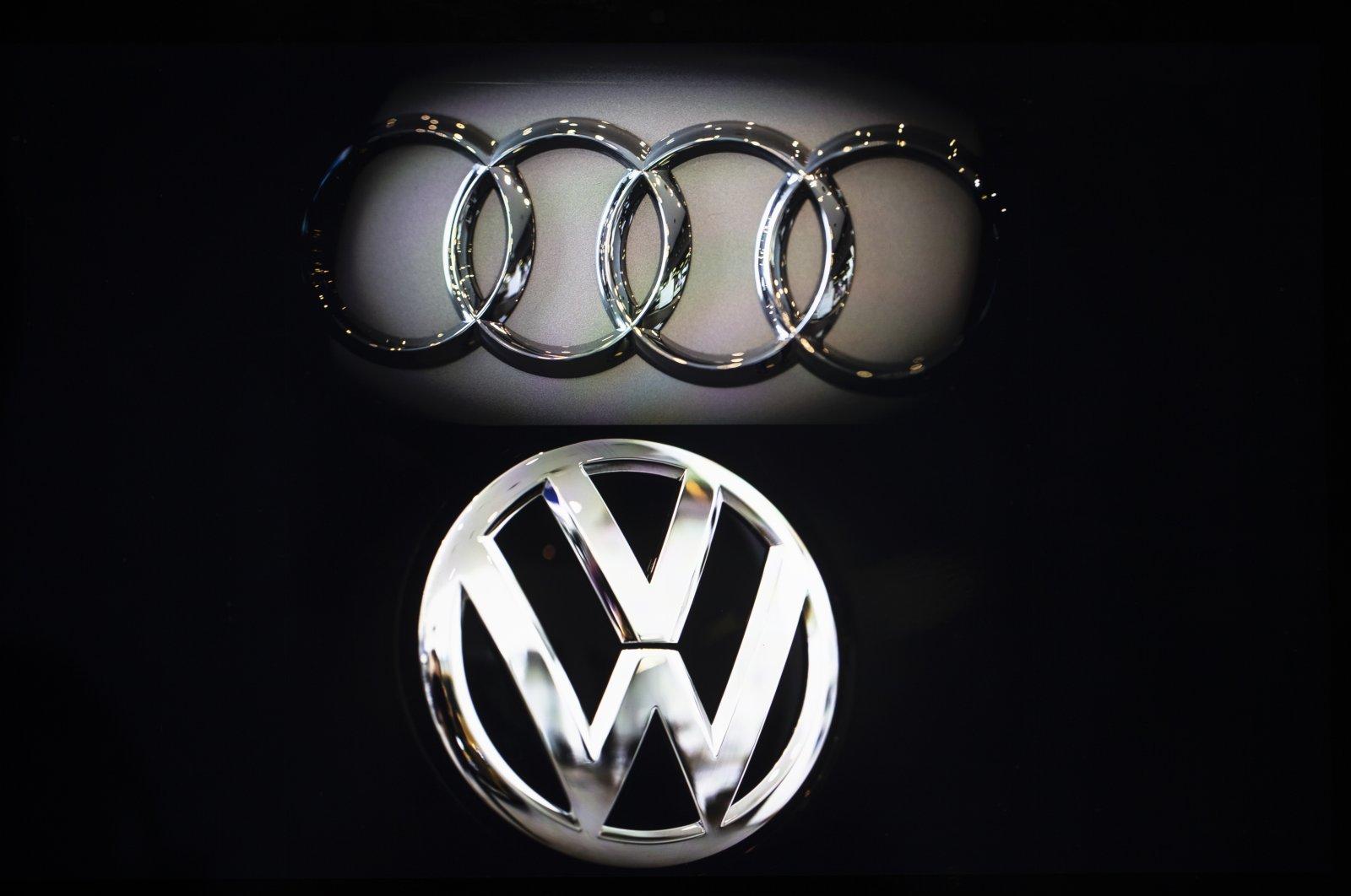 Audi, Volkswagen logos. (AA Photo)