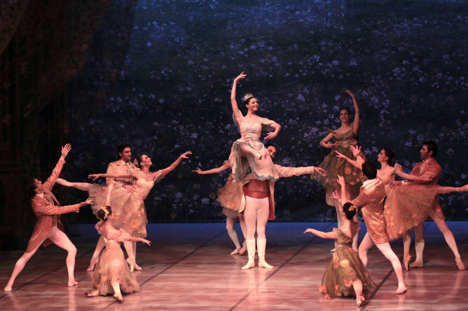 "An undated photo from Samsun State Opera and Ballet's previous ""Nutcracker"" performance in Samsun, Turkey. (AA Photo)"