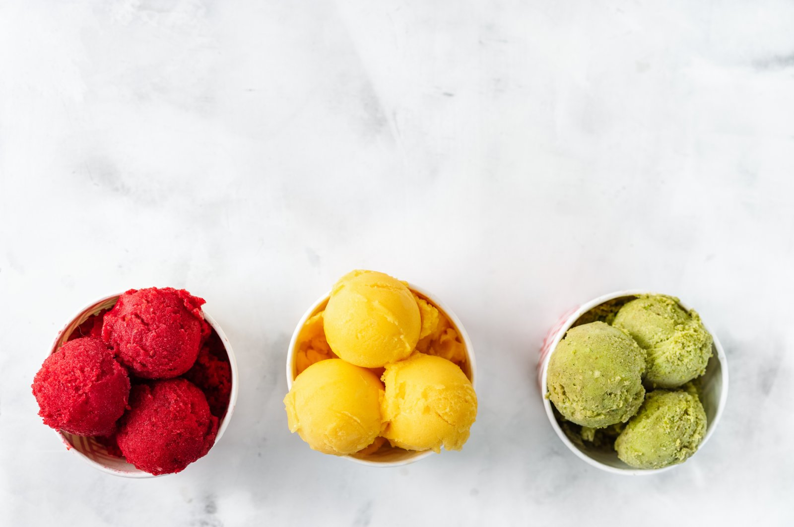 From raspberries and mangoes to avocadoes, you make sorbet out of any fruit you like. (iStock Photo)